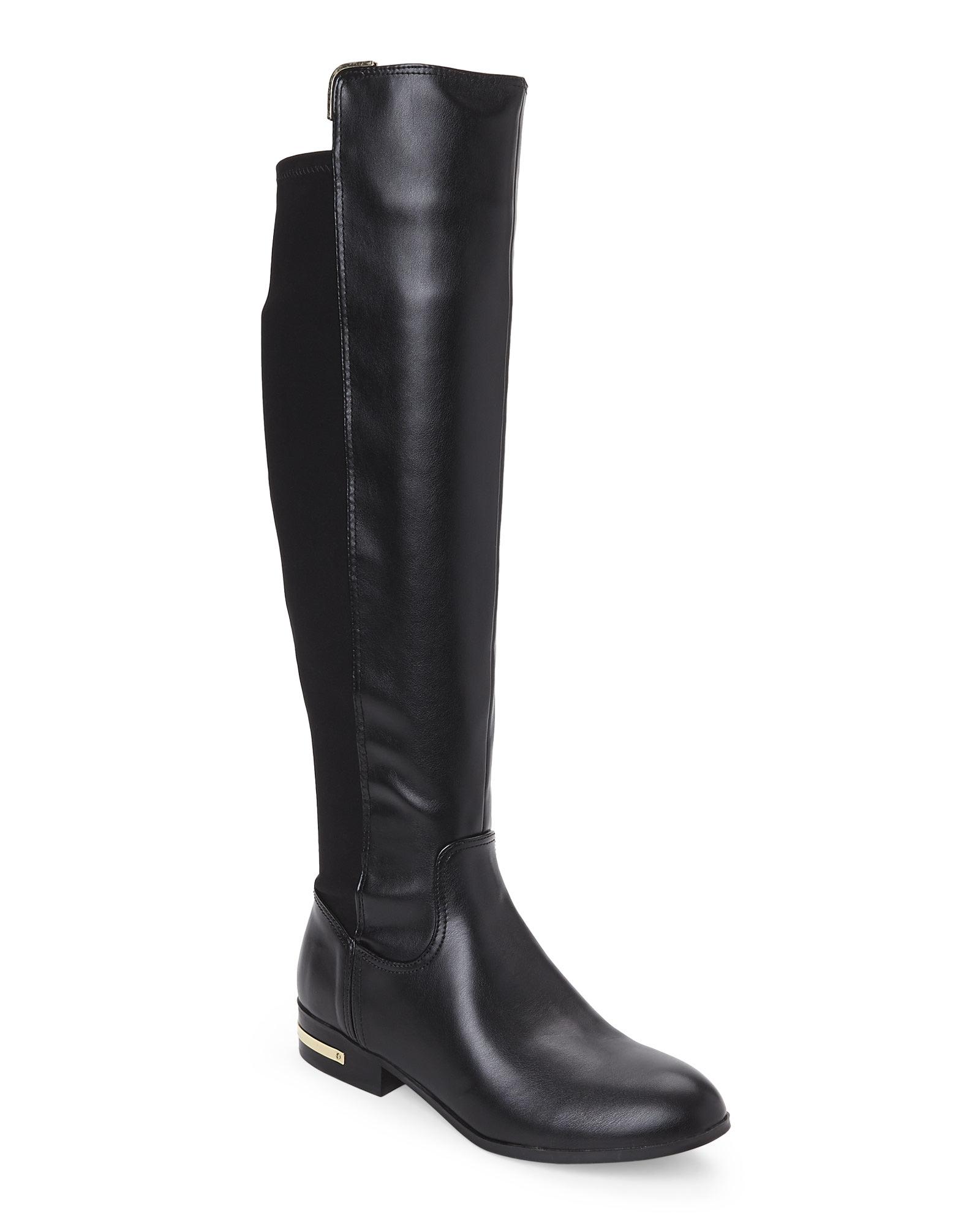 Marc fisher Phoenix Tall Riding Boots in Black | Lyst