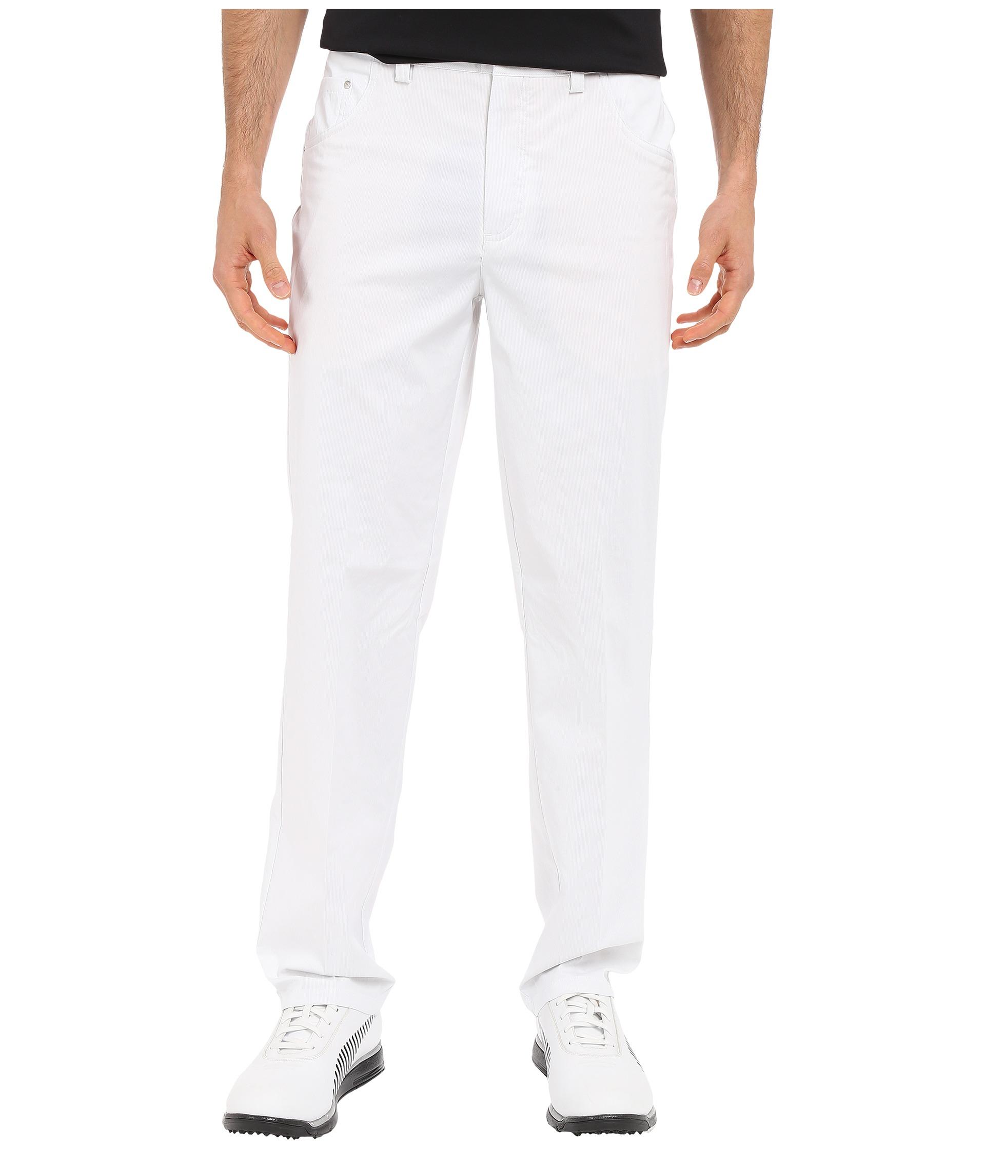 2320f089861b Lyst - PUMA 6-pocket Pants in White for Men
