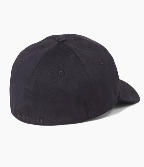 express large jersey baseball hat in black for