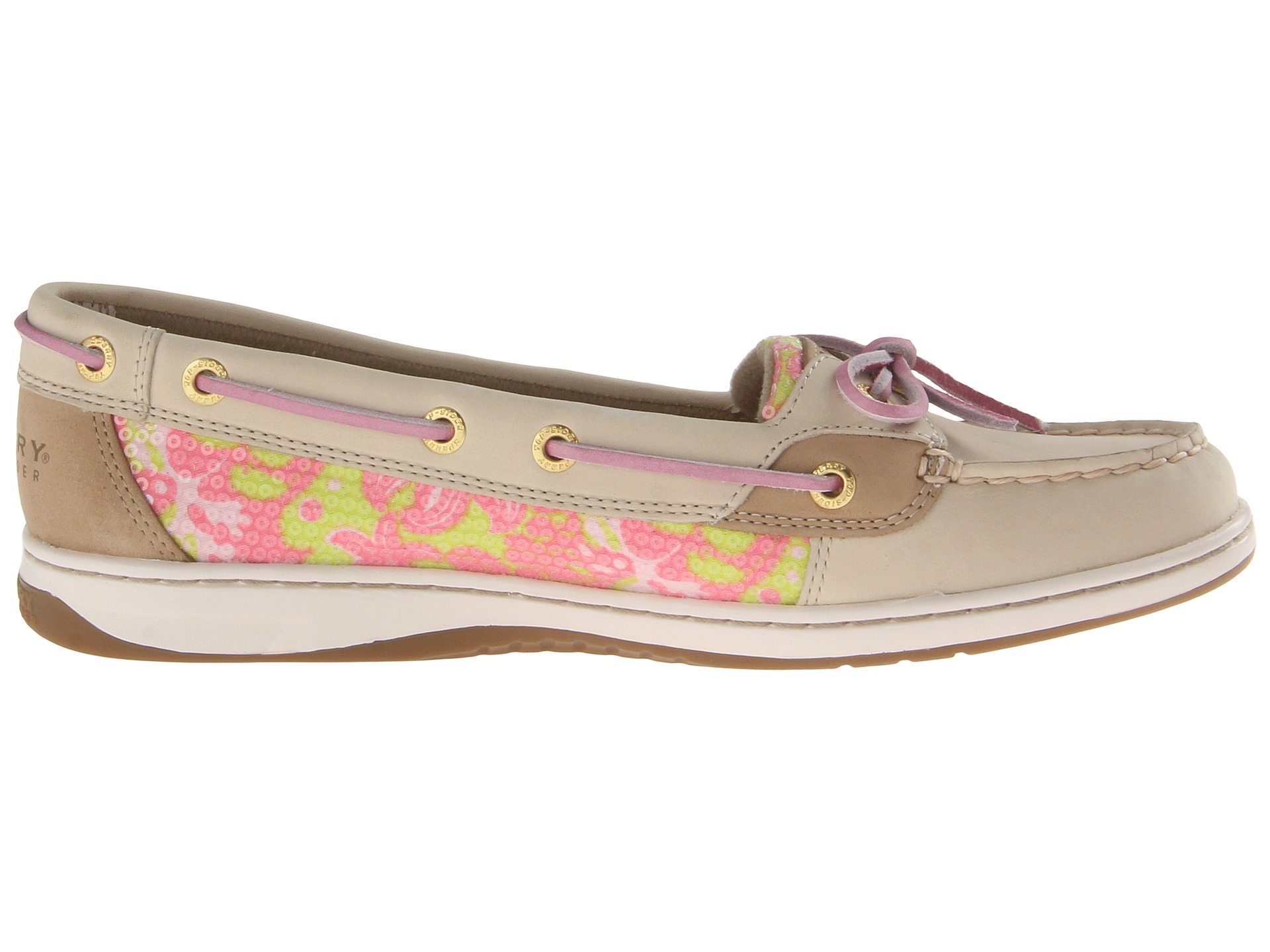 Sperry Top Sider Angelfish In Pink Oat Pink Xl Sealife