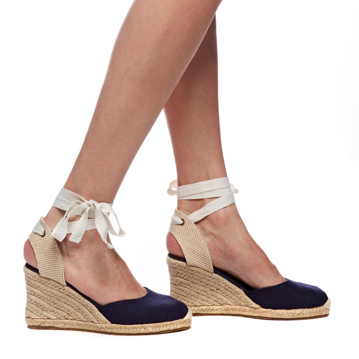 bbf7bbcc693 Soludos Blue Tall Wedge
