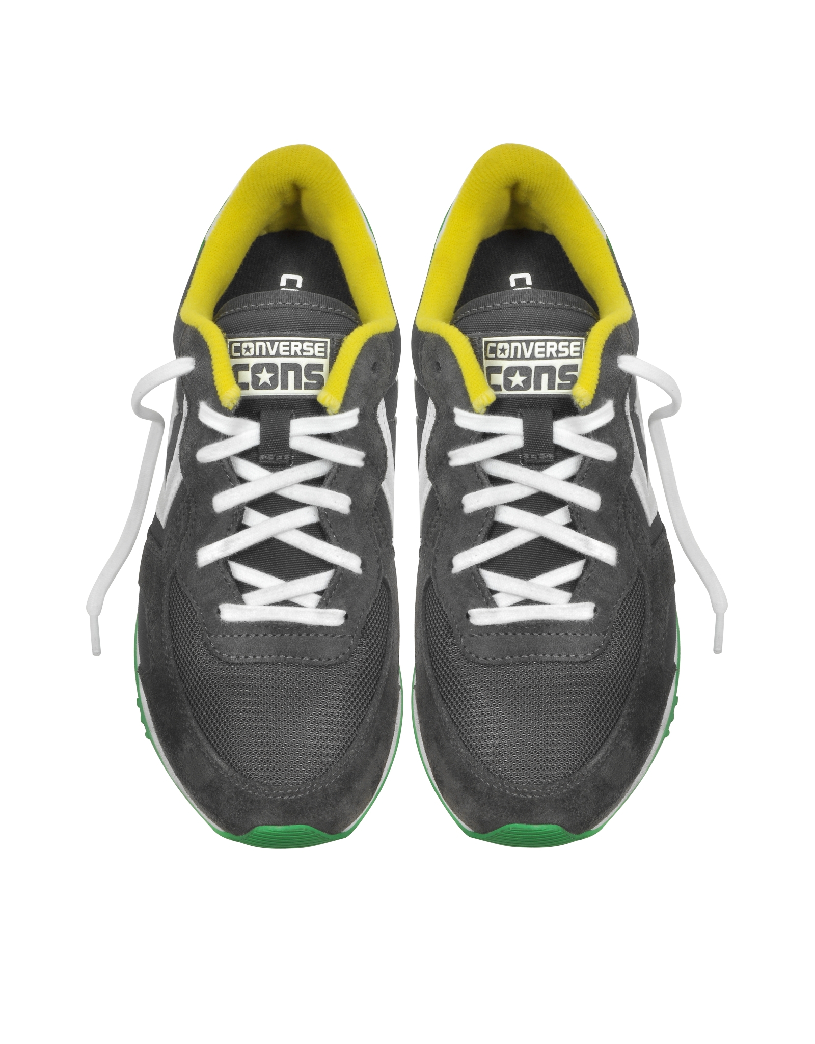 Converse Auckland Racer Ox Iron Emerald Citrus Nylon And