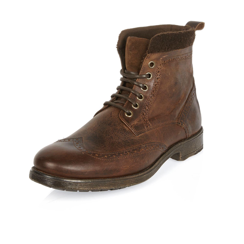 Asos River Island Brogue Boots