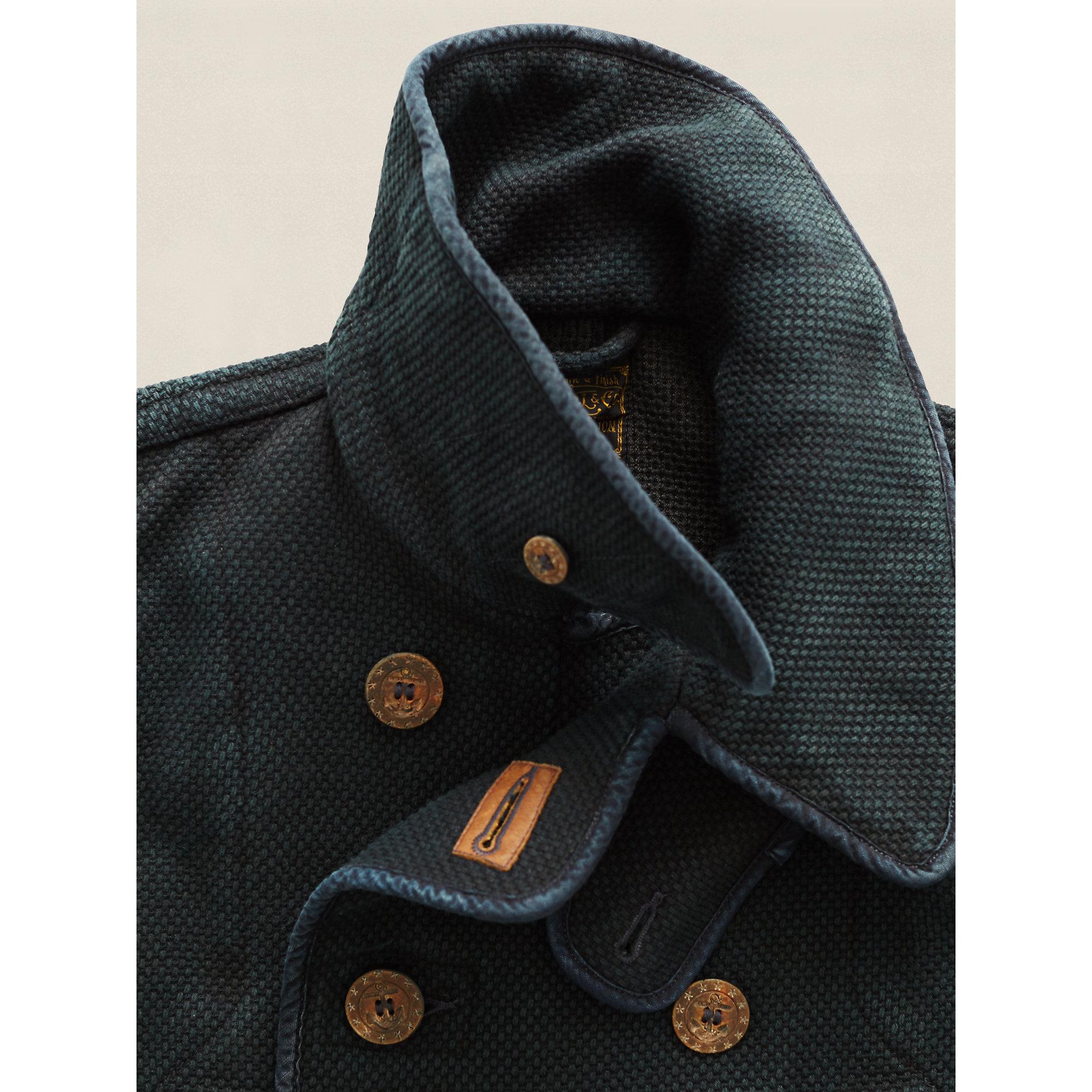 Rrl Limited Edition Nautilus Coat In Indigo Blue For Men