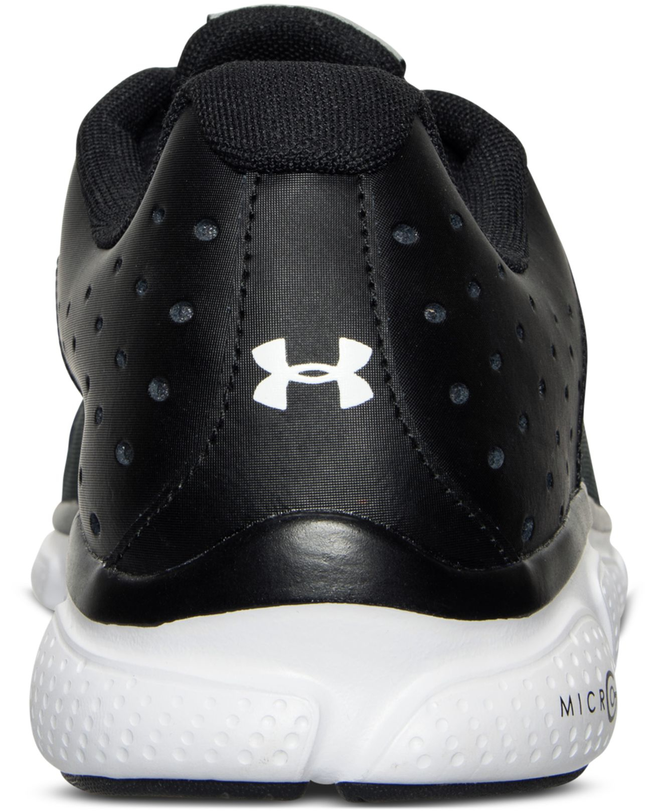 31be3fd59614 Lyst - Under Armour Men s Micro G Assert 6 Running Sneakers From Finish  Line in Black for Men