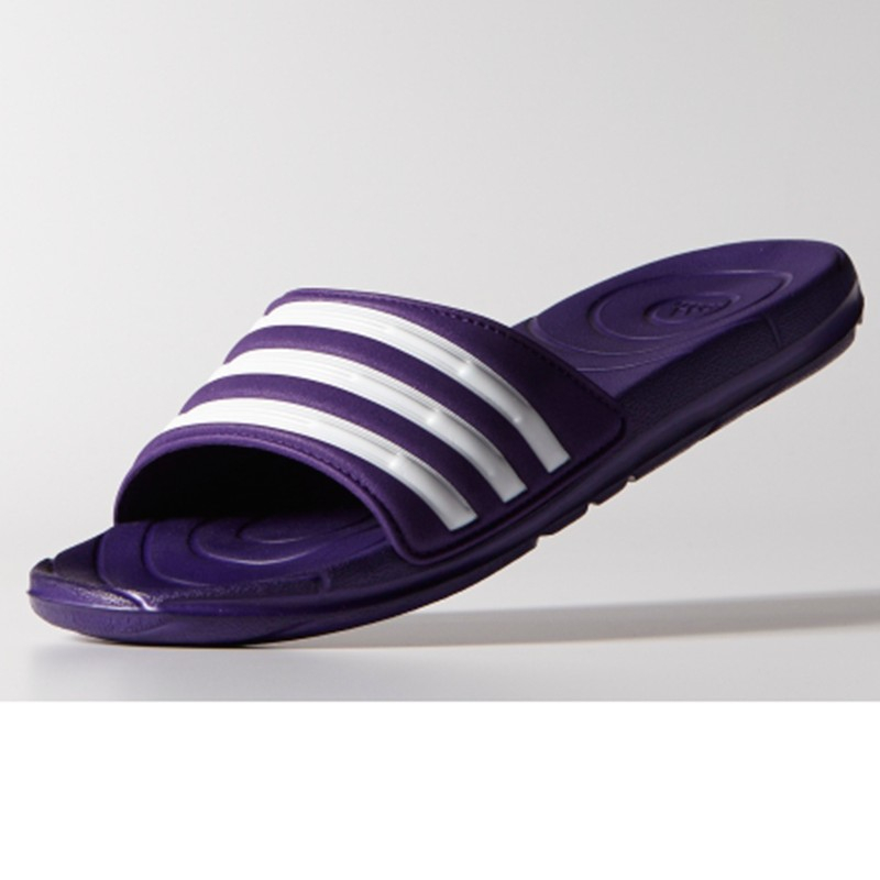9f60455c98fec Adidas Taedia Zoon Women S Pool Slides in Purple for Men - Lyst