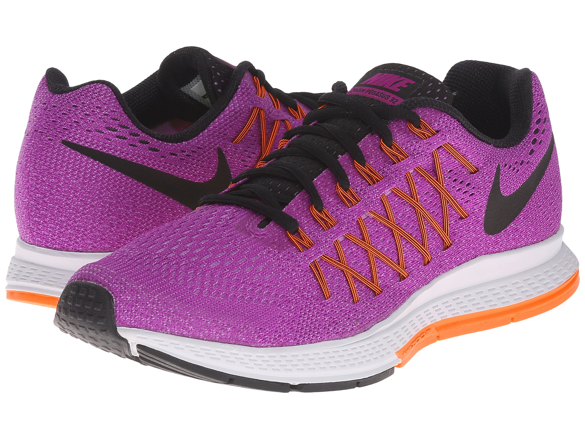 e5f8878a979 reduced red purple womens nike zoom pegasus 32 shoes 578d4 5f790