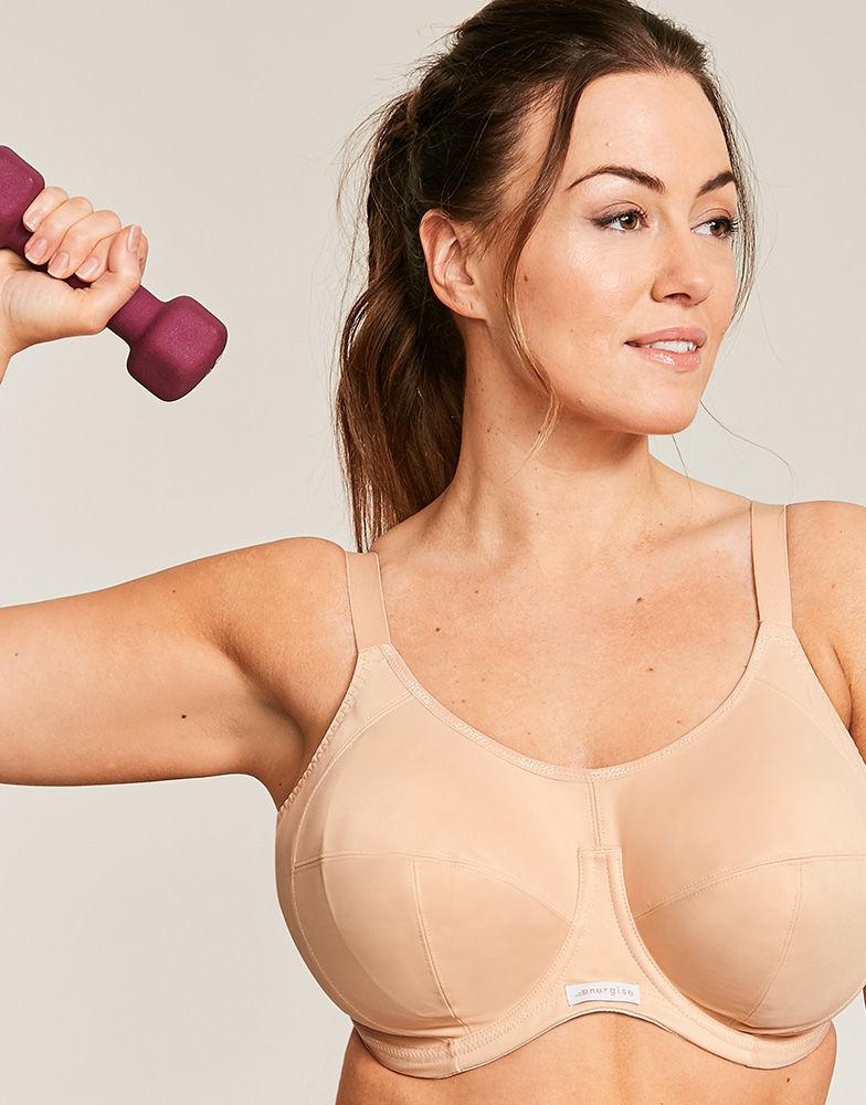 e7ef86fac9 Elomi Energise Underwired Sports Bra in Natural - Lyst
