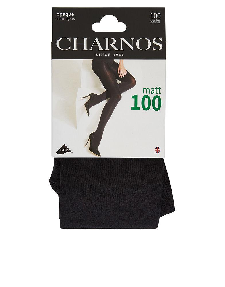 658808844 Charnos 100 Denier Tight in Black - Lyst