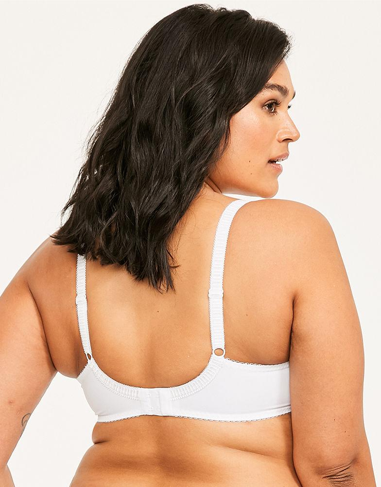 6ac66271e7 Fantasie Lois Underwired Bra With Side Support in White - Lyst