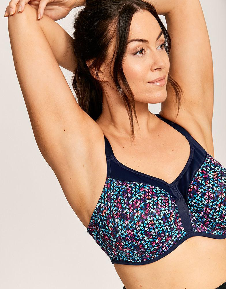 96ac984f76 Elomi Energise Underwired Sports Bra in Blue - Lyst