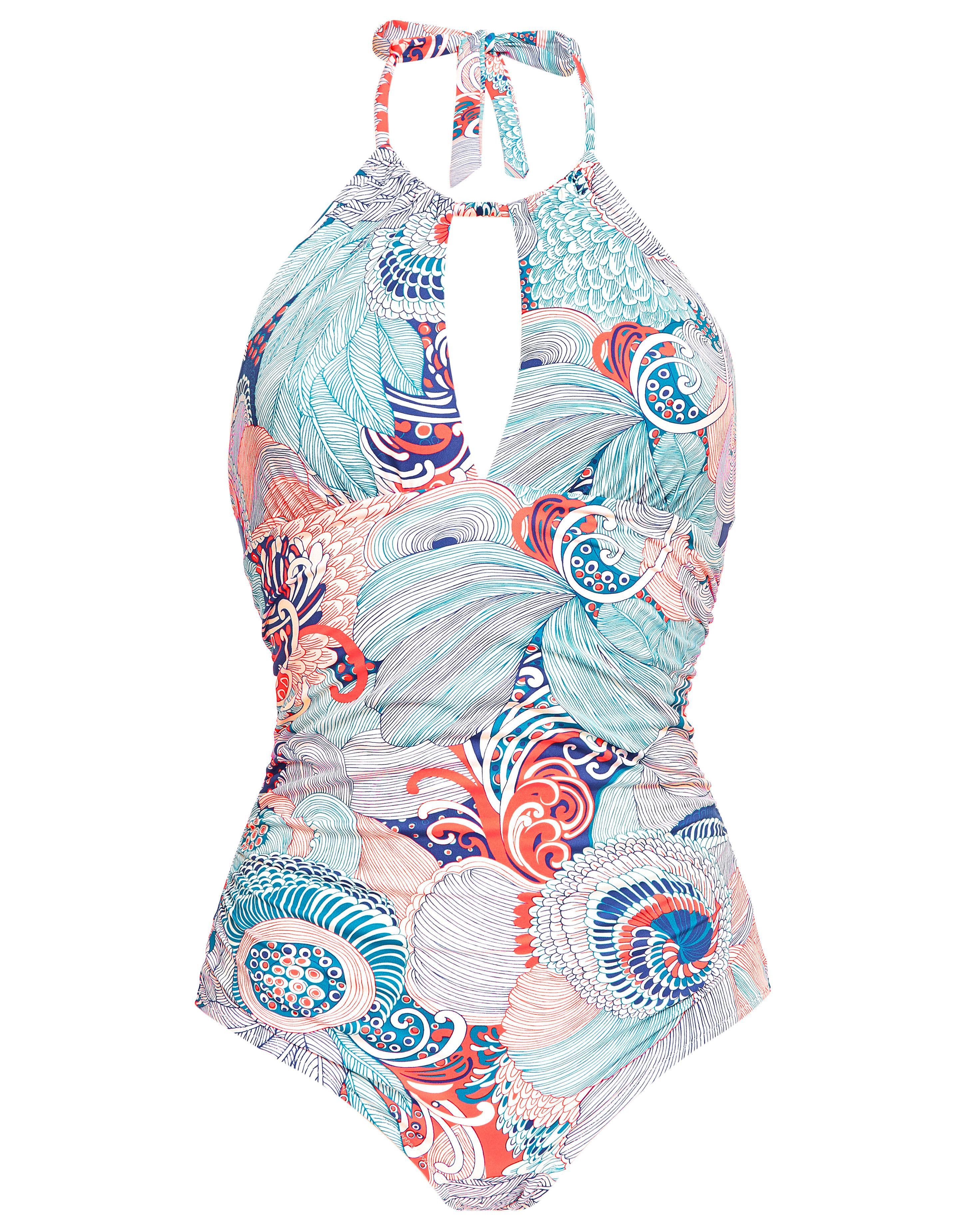 a0b5d5aae33 Huit Overjoyed Swimsuit in Blue - Lyst