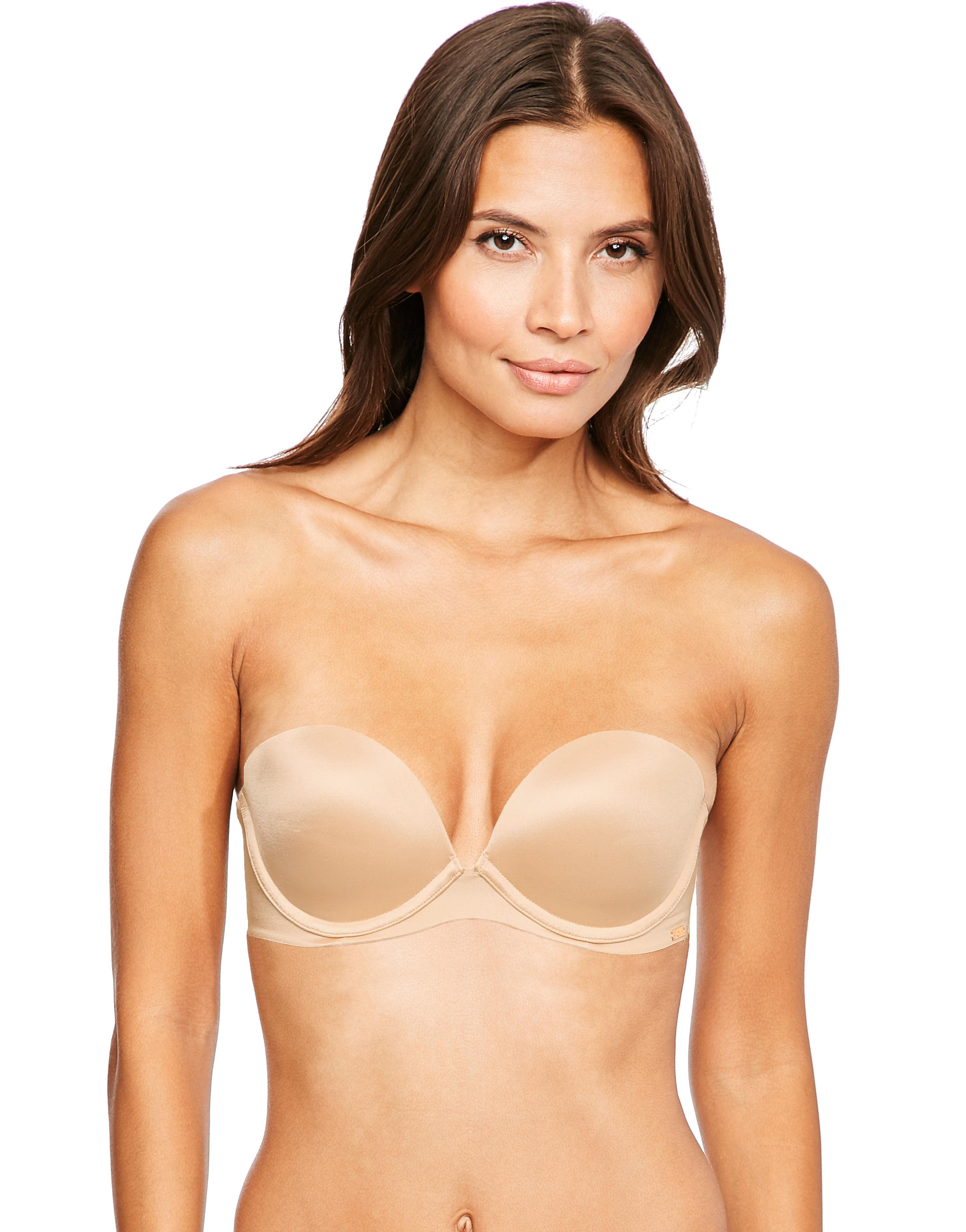 6366c2eebb Ultimo Strapless Plunge Bra in Natural - Lyst