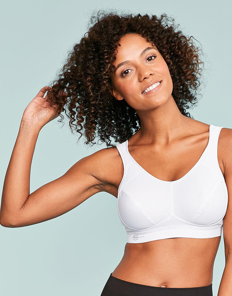 f0c9ec02a9 Anita Active Extreme Control Sports Bra in White - Lyst