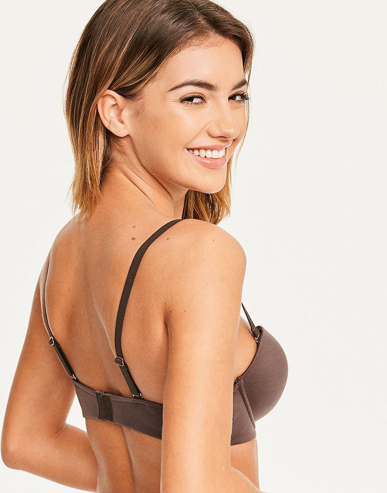 b74cf92c474fd Figleaves Smoothing Strapless Balcony Bra A-h Cup - Lyst