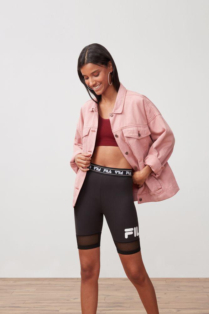 fila mesh biker shorts \u003e Clearance shop