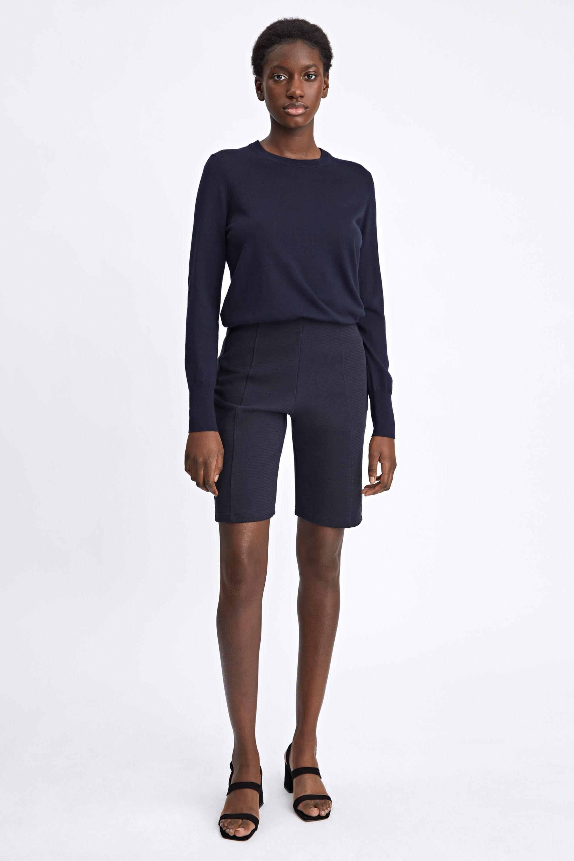 filippa k twill jersey shorts