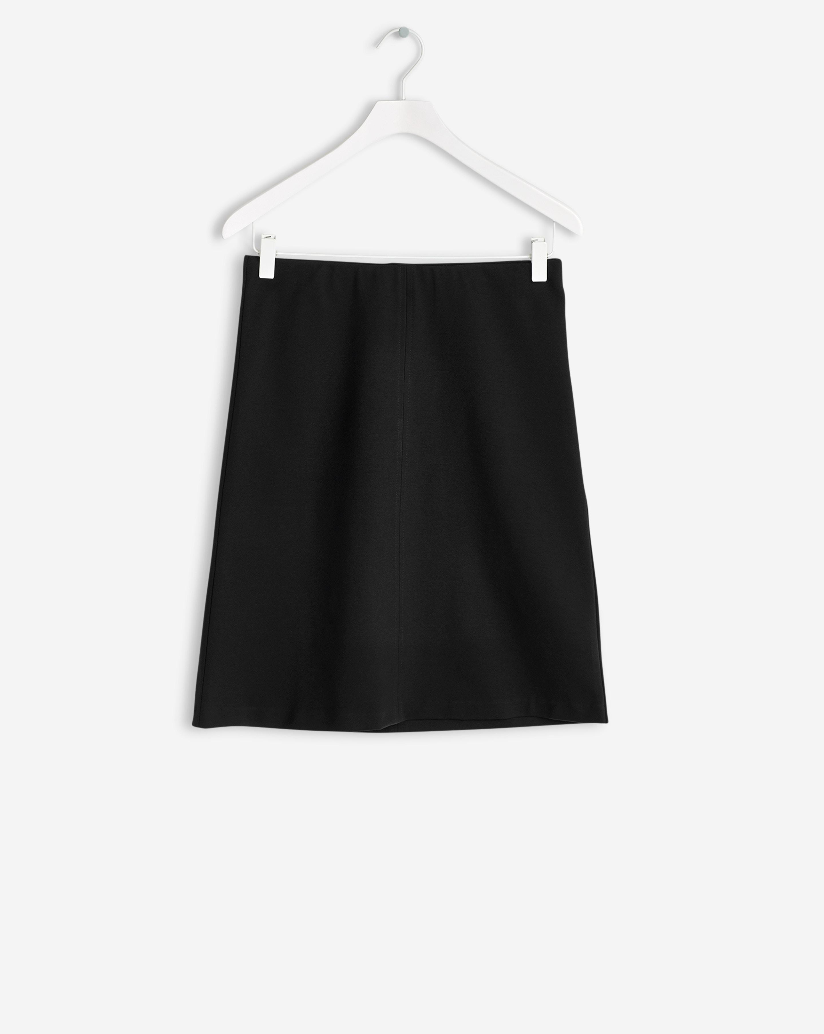 filippa k clean jersey skirt