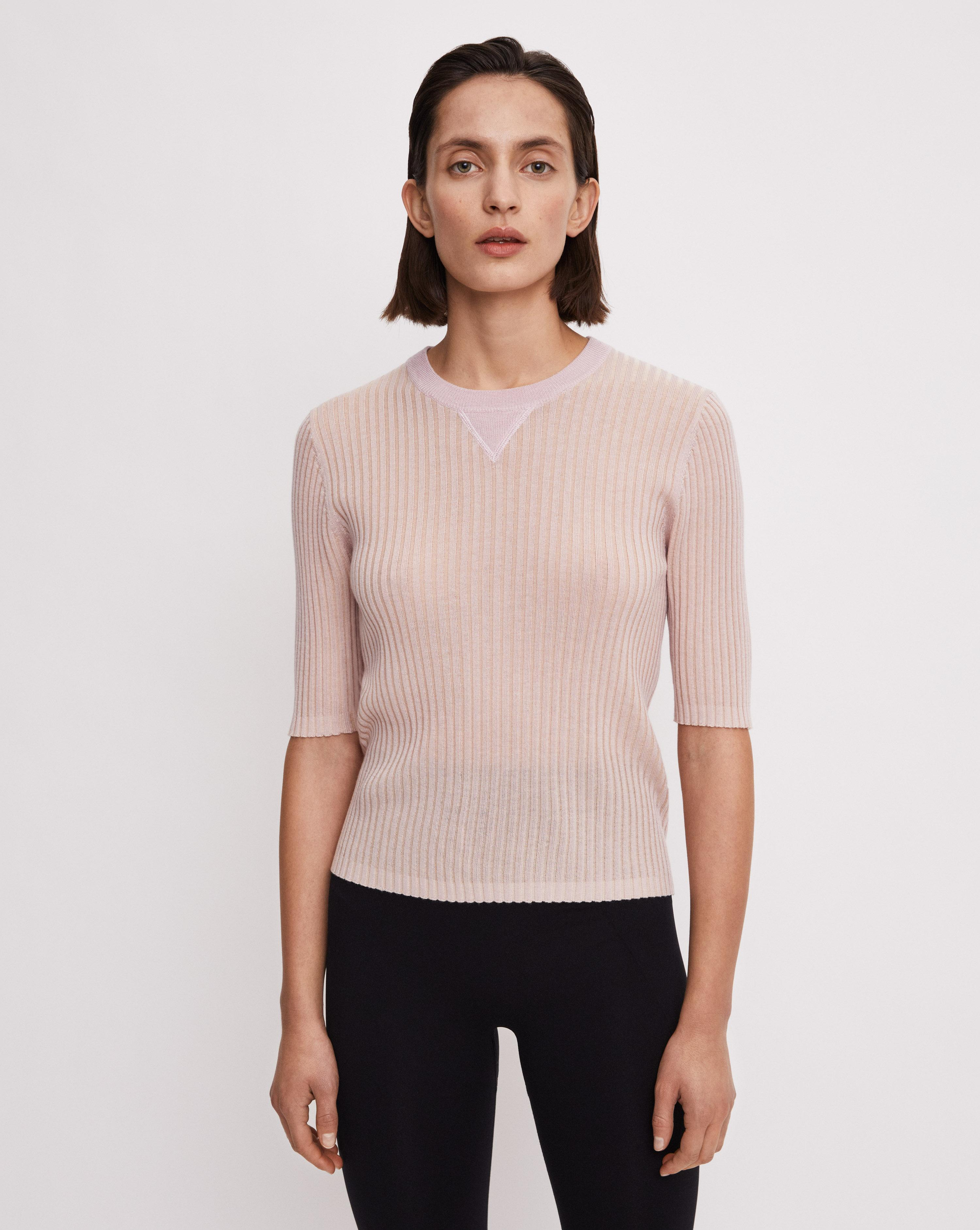 slim rib knit top filippa k