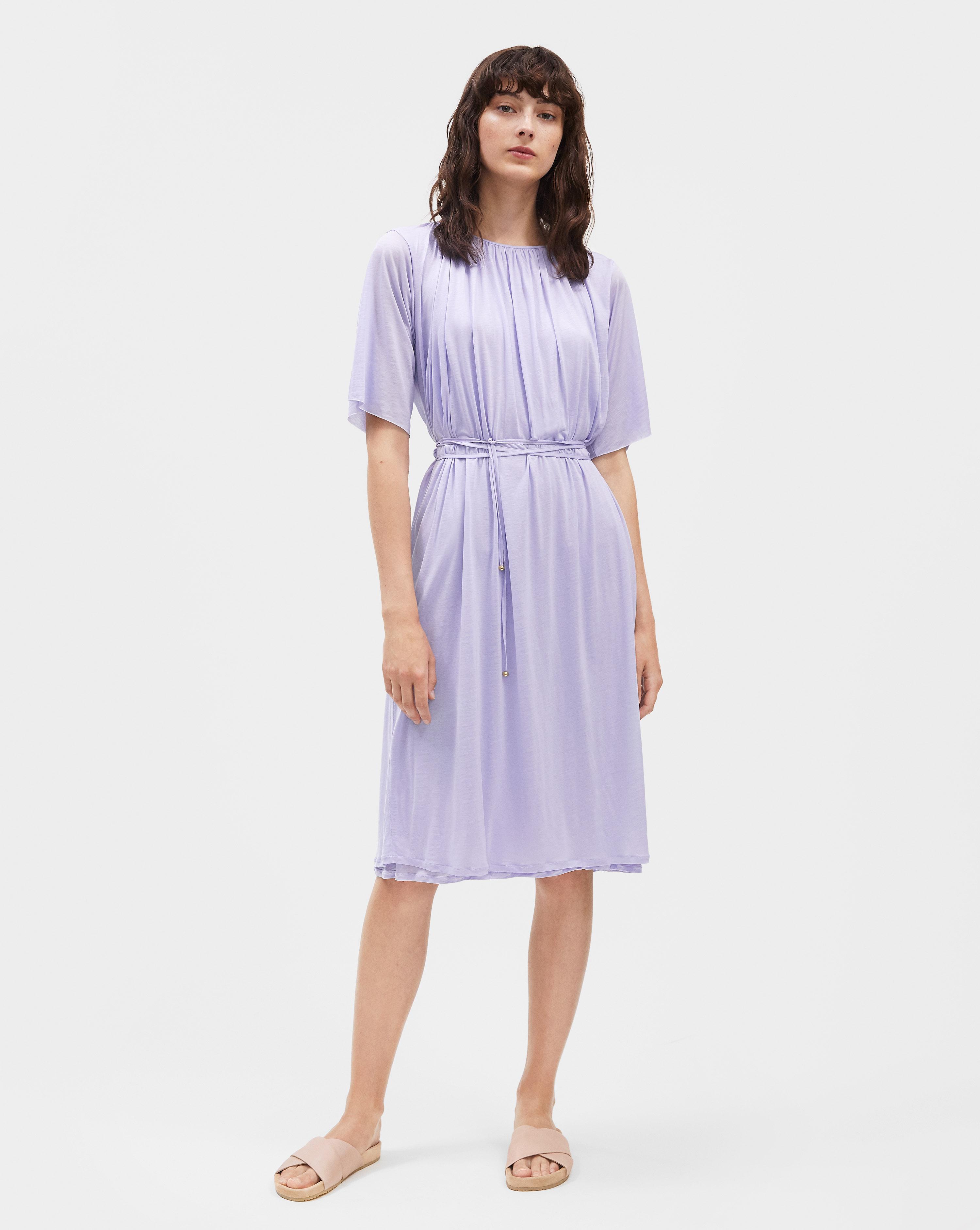 filippa k semi wrap dress