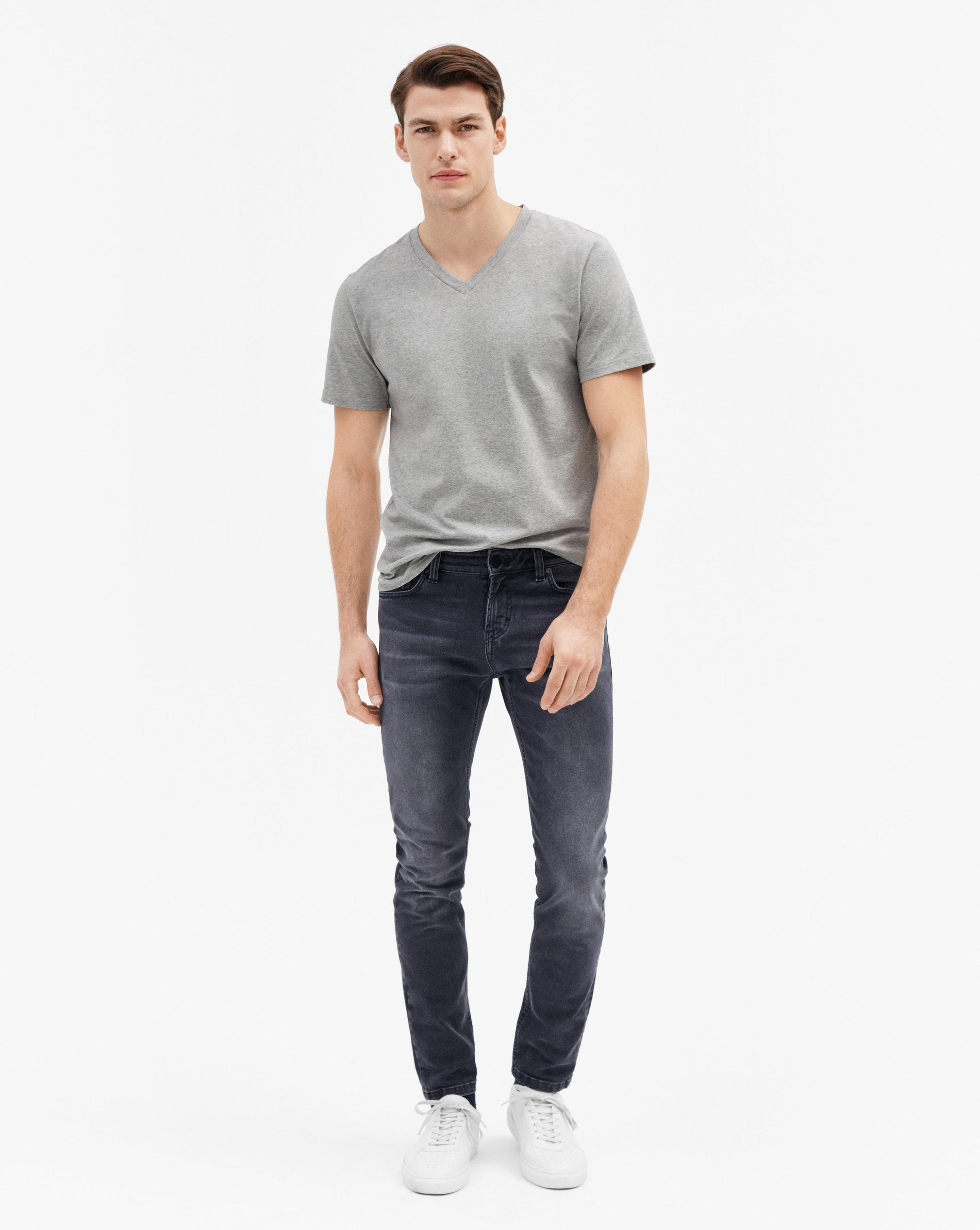 lenkkitossut jaloissa Viimeisin Filippa K Denim Rob Grey Wash Jeans in Gray for Men - Lyst