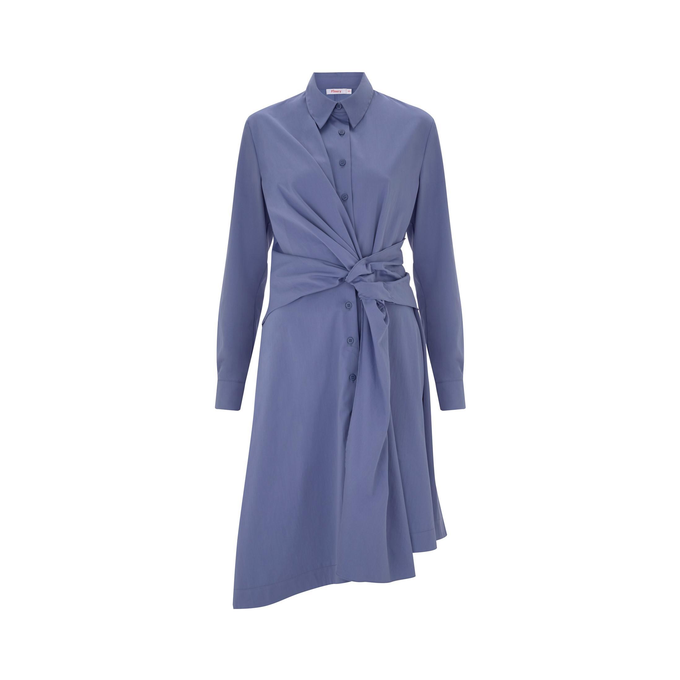 Lyst Dress In London Dulwich Blue Finery OkXiuPZT
