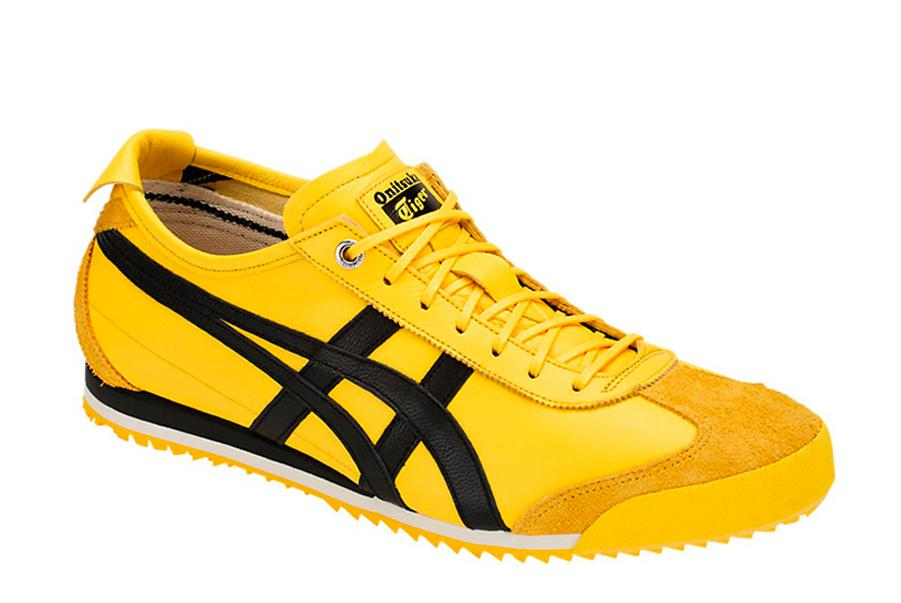 onitsuka tiger mexico 66 sd yellow black uruguay vintage leather