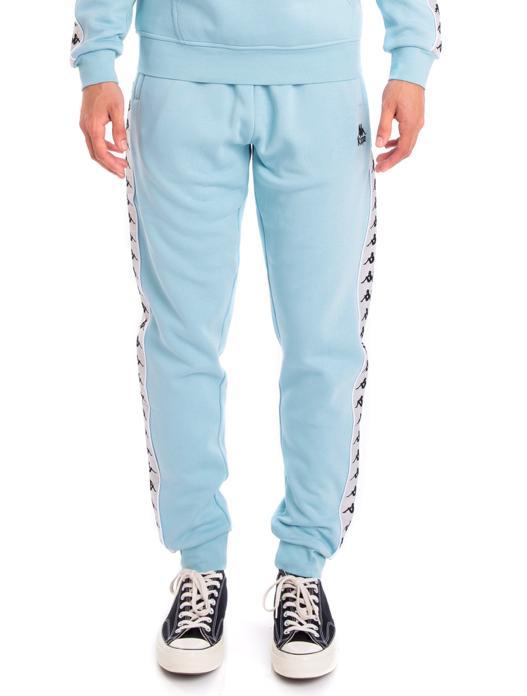 b5ef5465 Men's 222 Banda Alanz Alternating Banda Sweatpants, Azure Gray Sliver Black