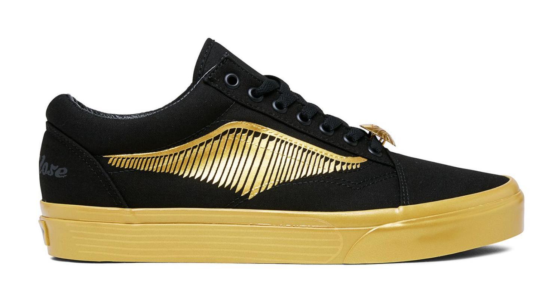 kup tanio kup dobrze wspaniały wygląd X Harry Potter Unisex Old Skool Sneakers, Golden Snitch /black