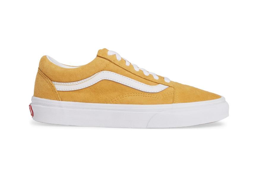old skool vans yellow