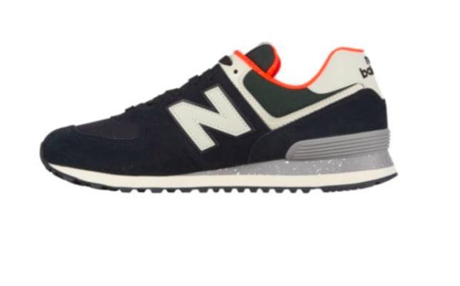 buy popular 40099 f45f8 New Balance Classics Ml574hvd Sneakers, Black/flame for men