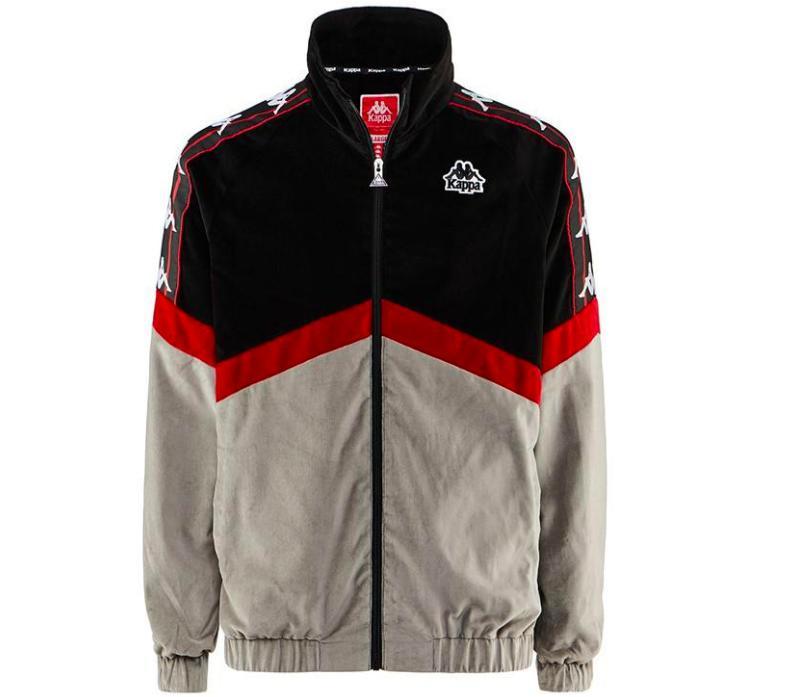 809c2b66a0 Authentic Cabrini Black Track Jacket - Mens L