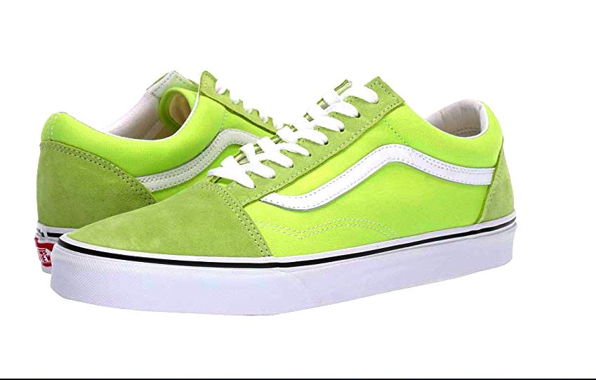lime green vans shoes