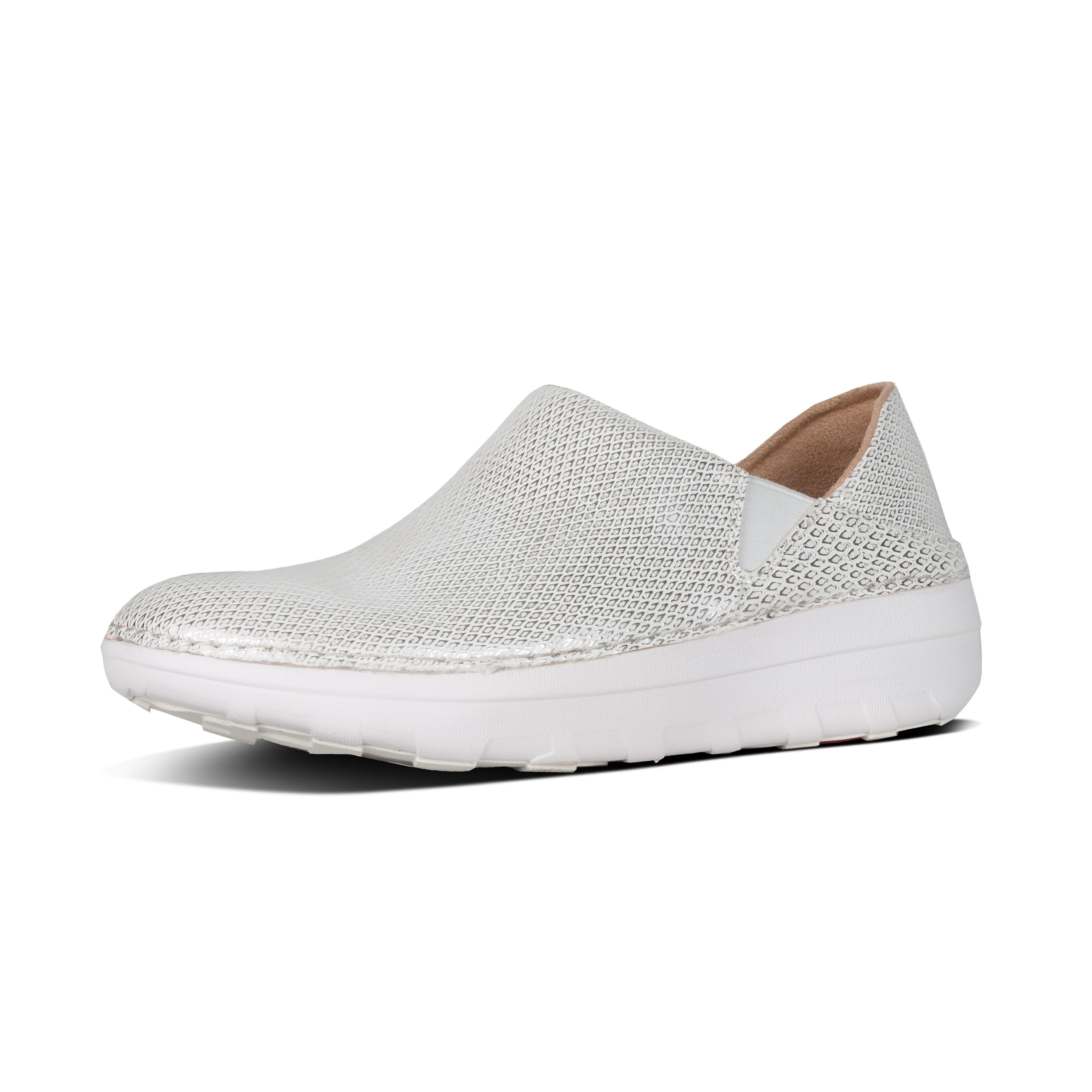 c75ca461688 Lyst - Fitflop Superloafer in White