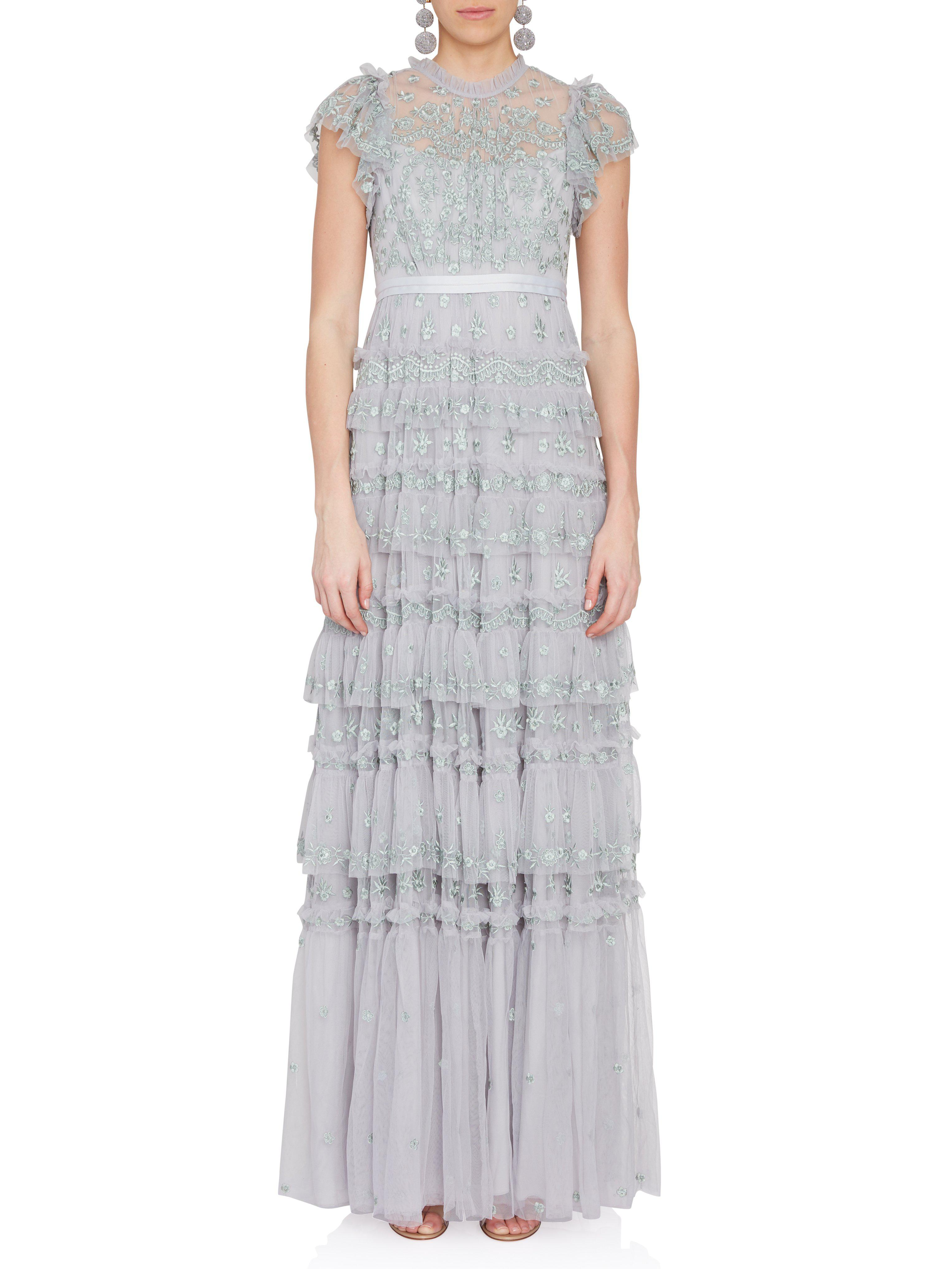 Lyst - Needle & Thread Darcy Mint Gown