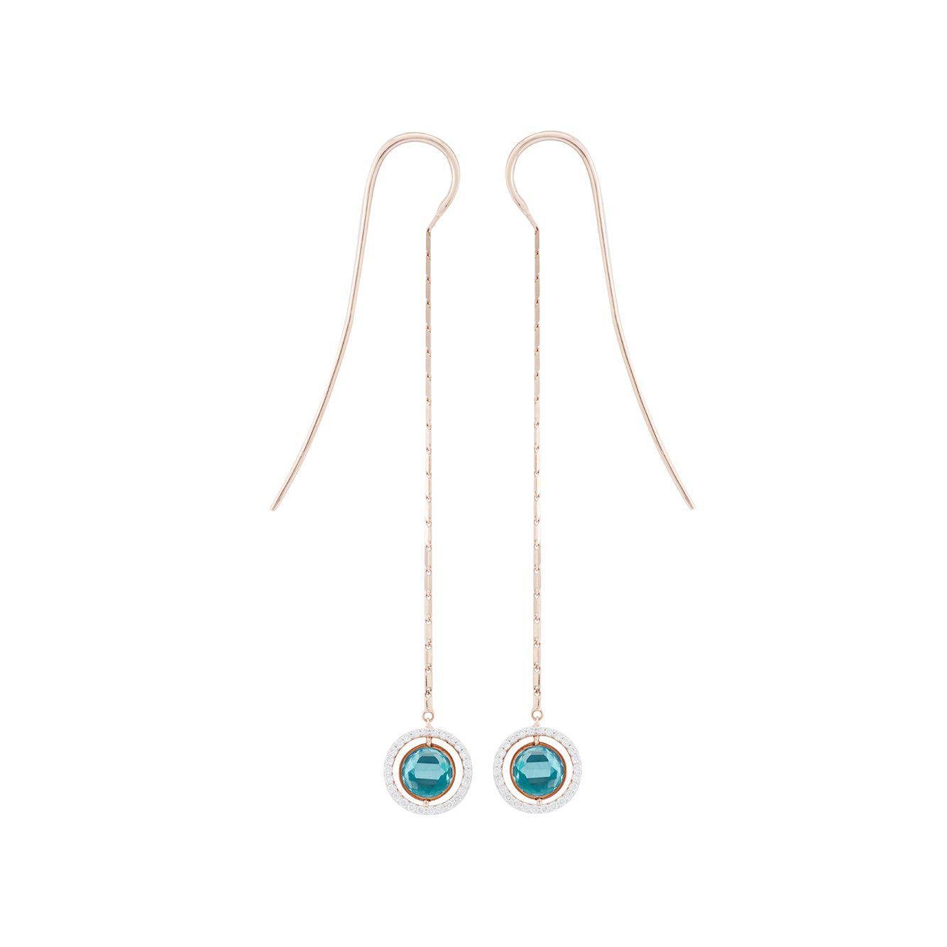 Swiveling Single Hook Earring Marie Mas MciH8SG