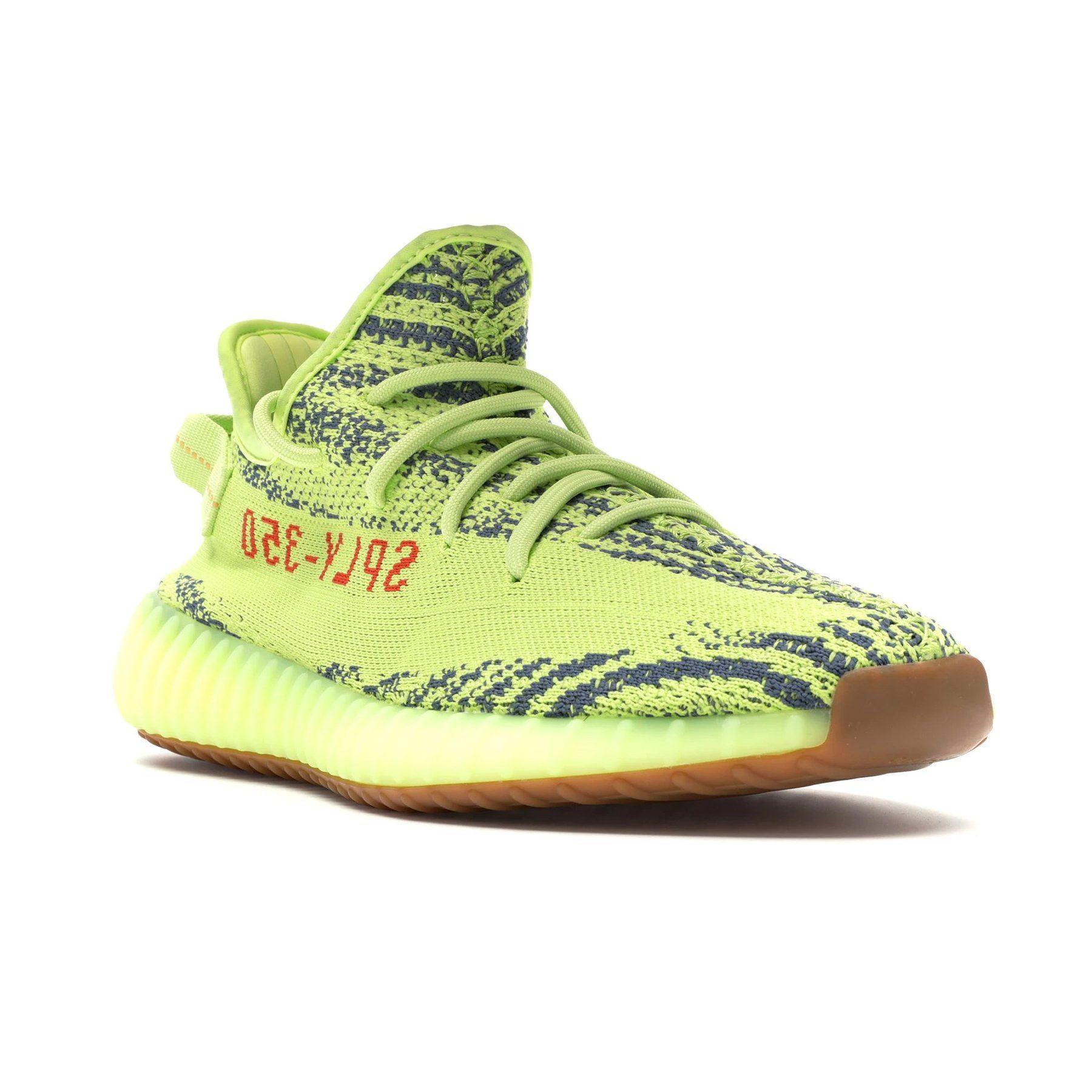 newest 4f66c eeeb1 Men's Semi Frozen Yellow Boost 350 V2 By