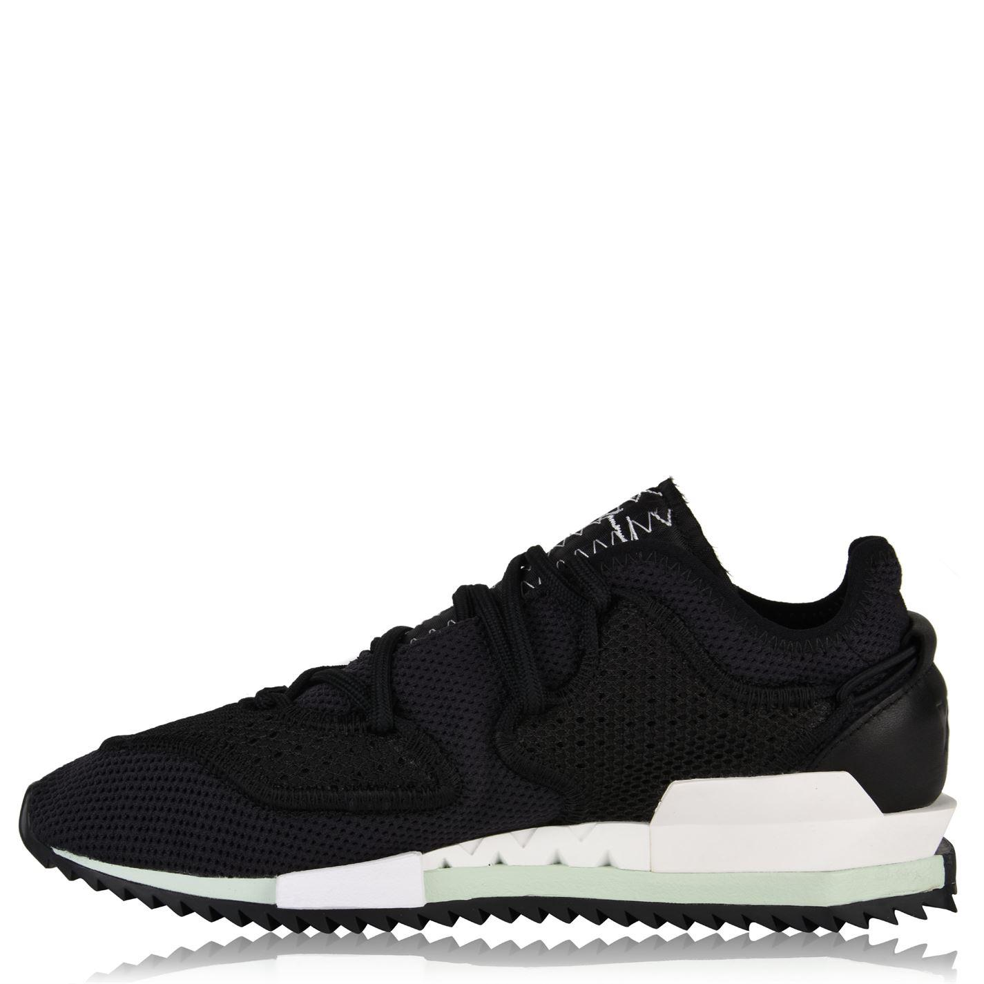 cheap for discount 22653 60ea1 Y-3 - Black Harigane Knit Mesh Trainers for Men - Lyst. View fullscreen