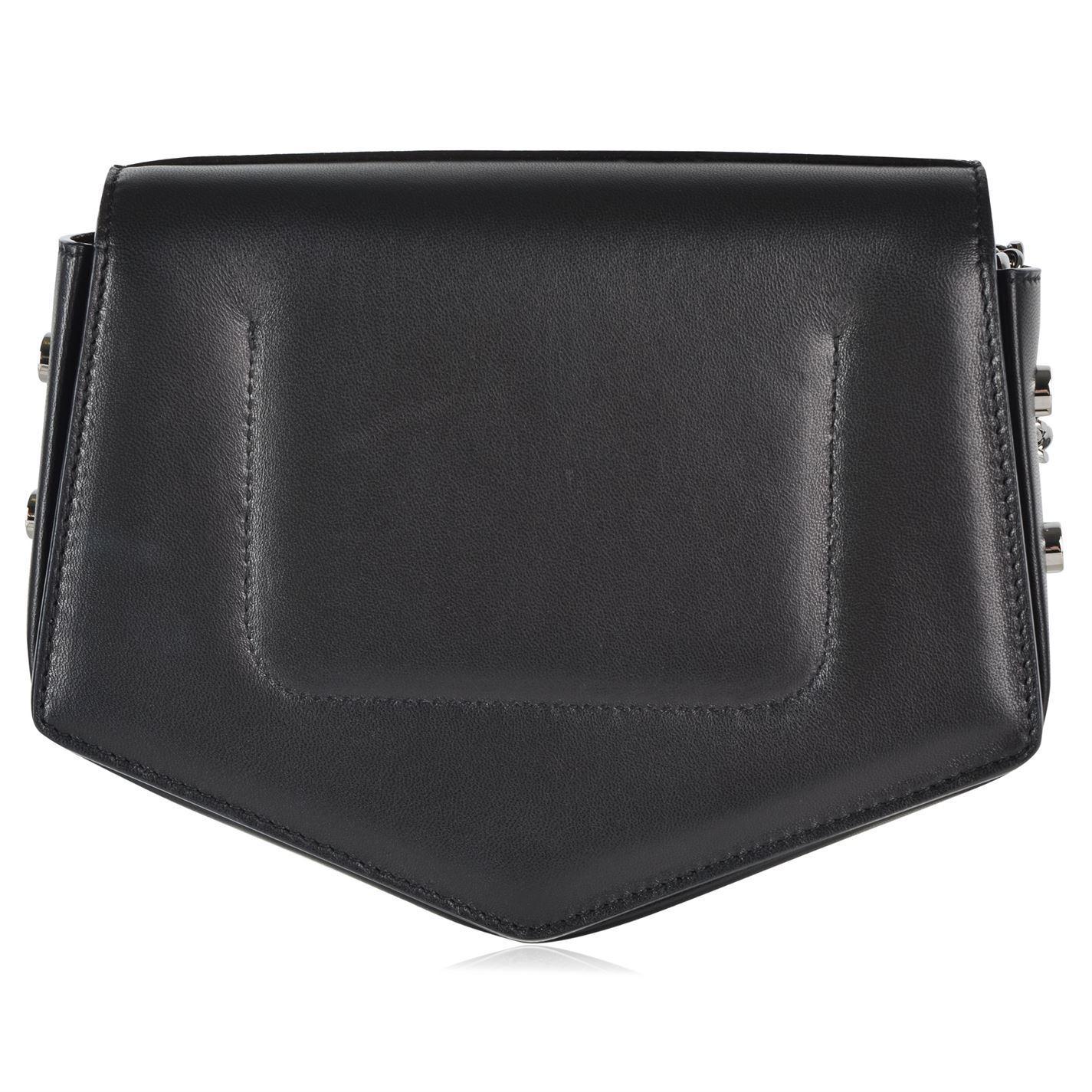 Jimmy Choo Leather Arrow Cross Body Bag in Black
