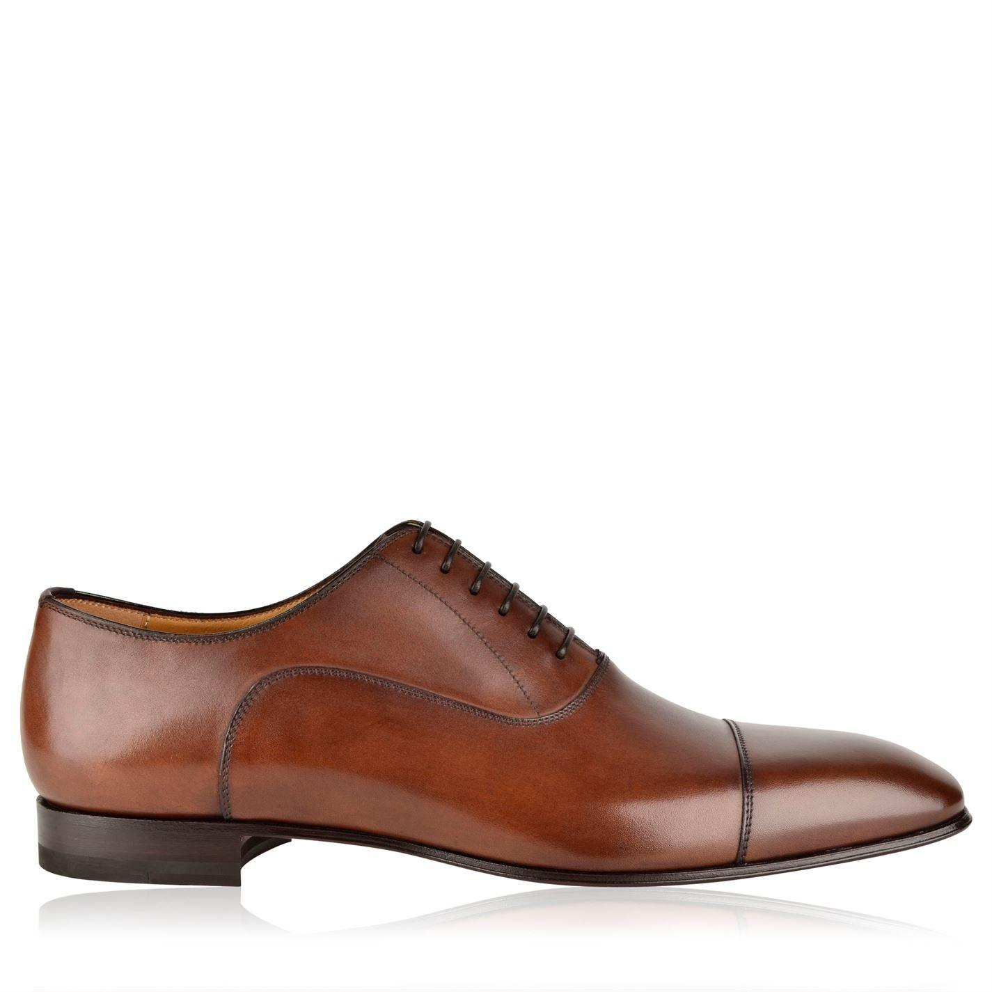 380dff5a5d4 Lyst - Christian Louboutin Greggo Oxford Shoes in Brown for Men