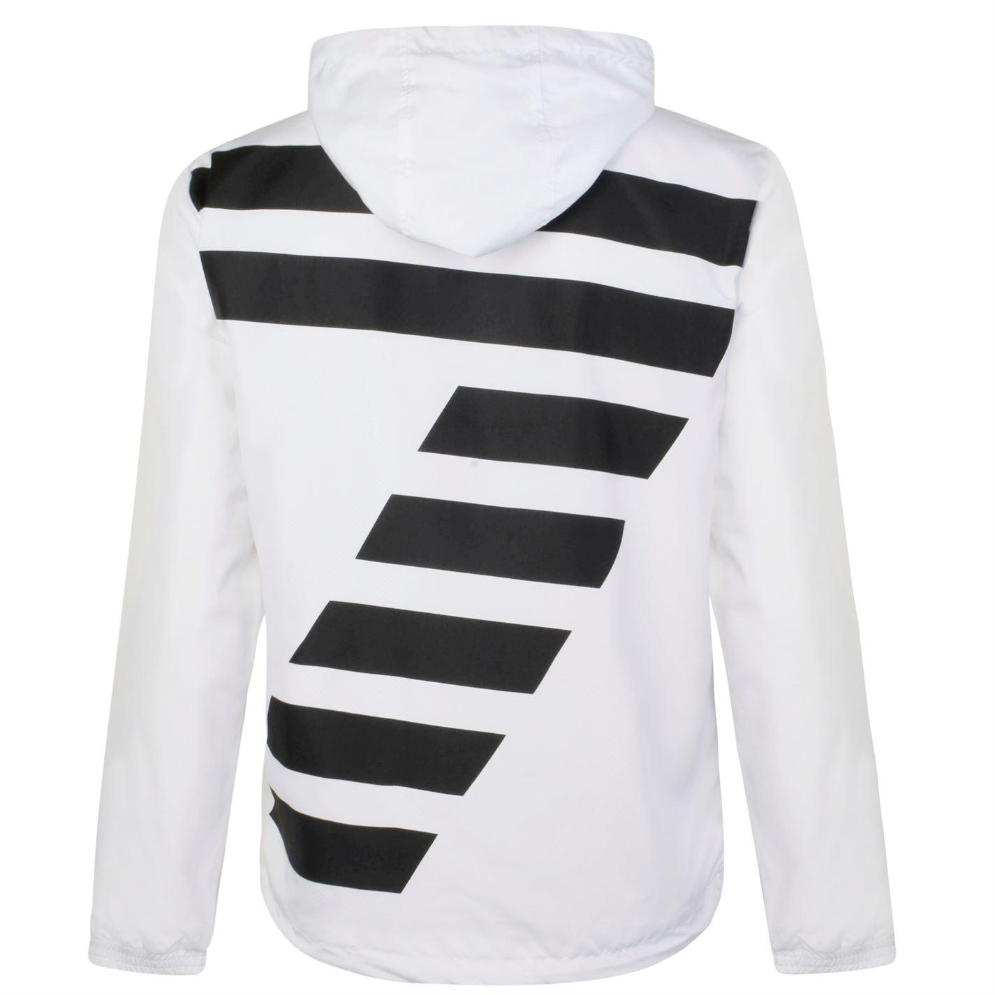 EA7 Synthetic Logo Jacket in White for Men