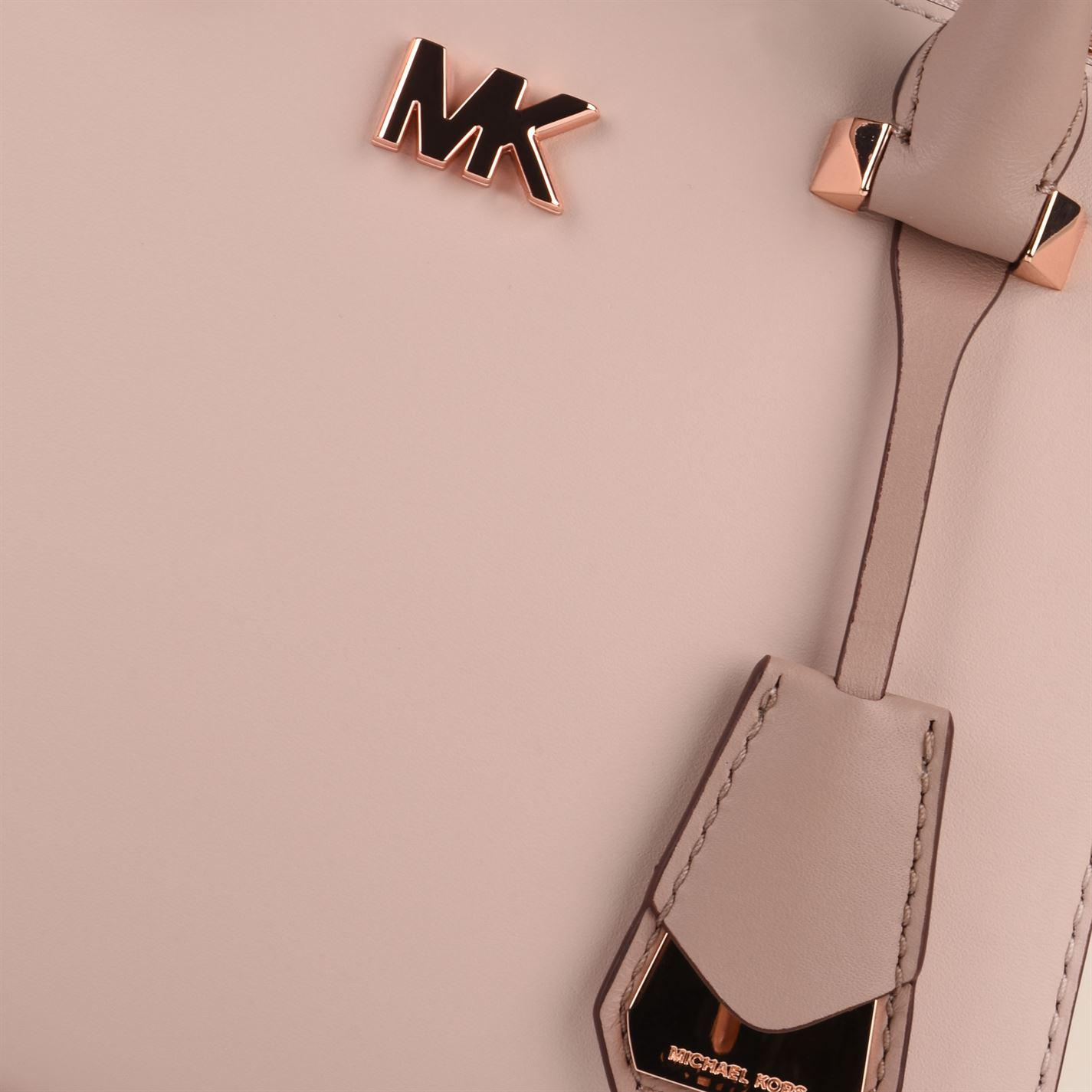 MICHAEL Michael Kors Mk Motto Messenger Bag in Pink - Lyst 289512a7eca04