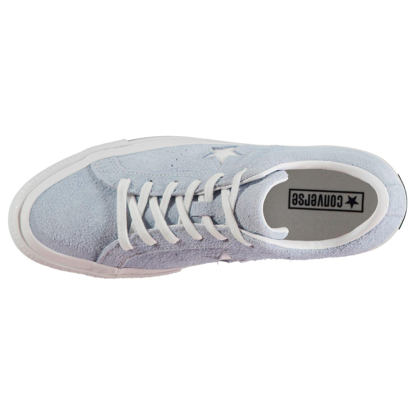 Converse Suede One Star Low Top Trainers for Men