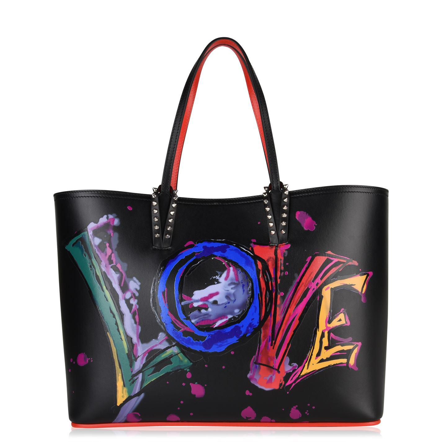 Lyst - Christian Louboutin Cabata Love Tote Bag in Black - Save 50% fdf9ff4730681
