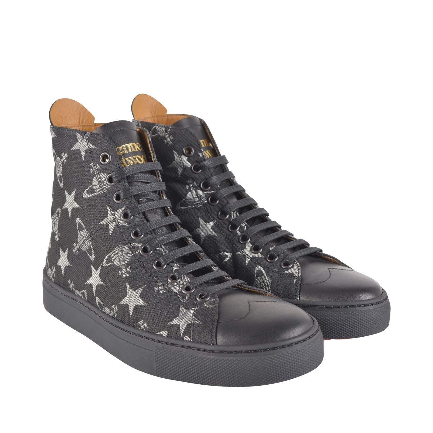 Vivienne Westwood Leather Jacquard High