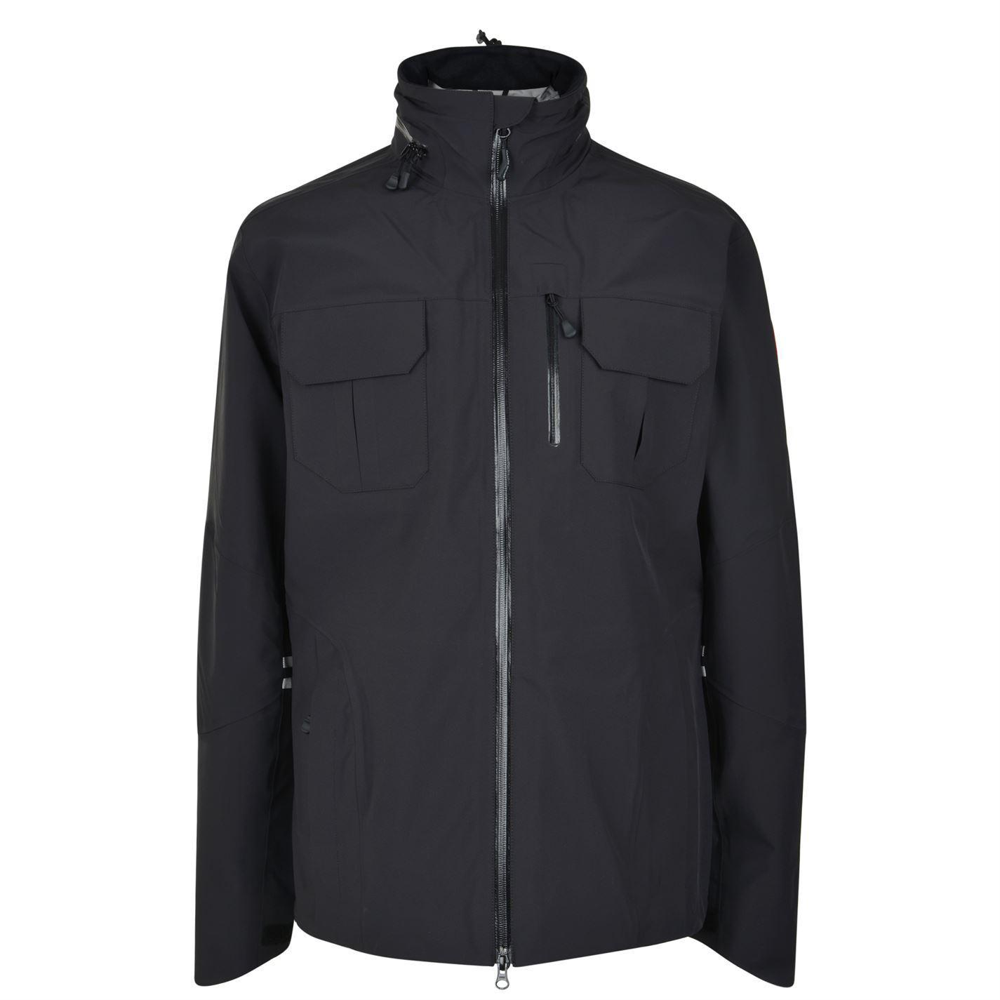 Canada Goose. Men's Black Moraine Jacket