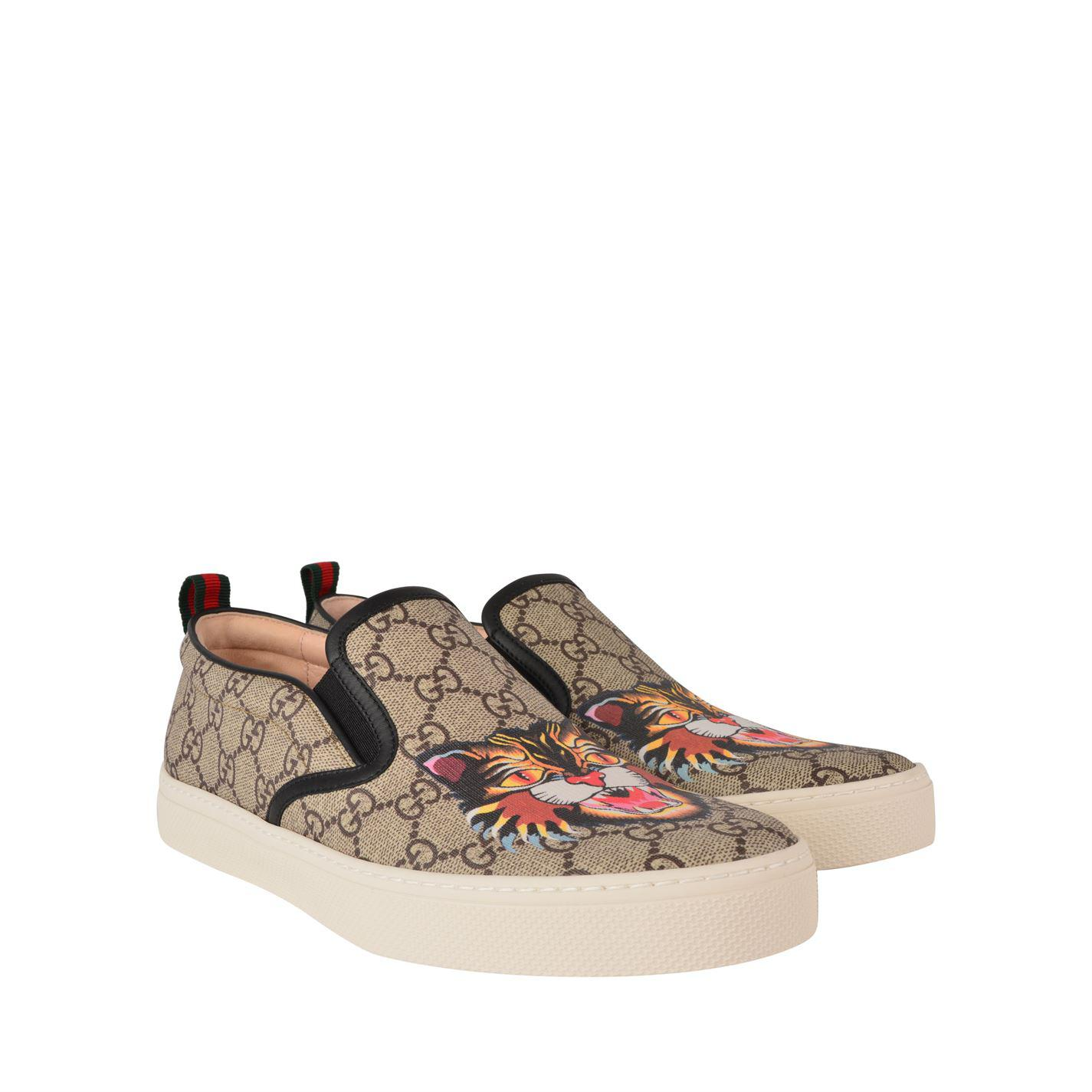 Gucci Leather Dublin Gg Angry Cat
