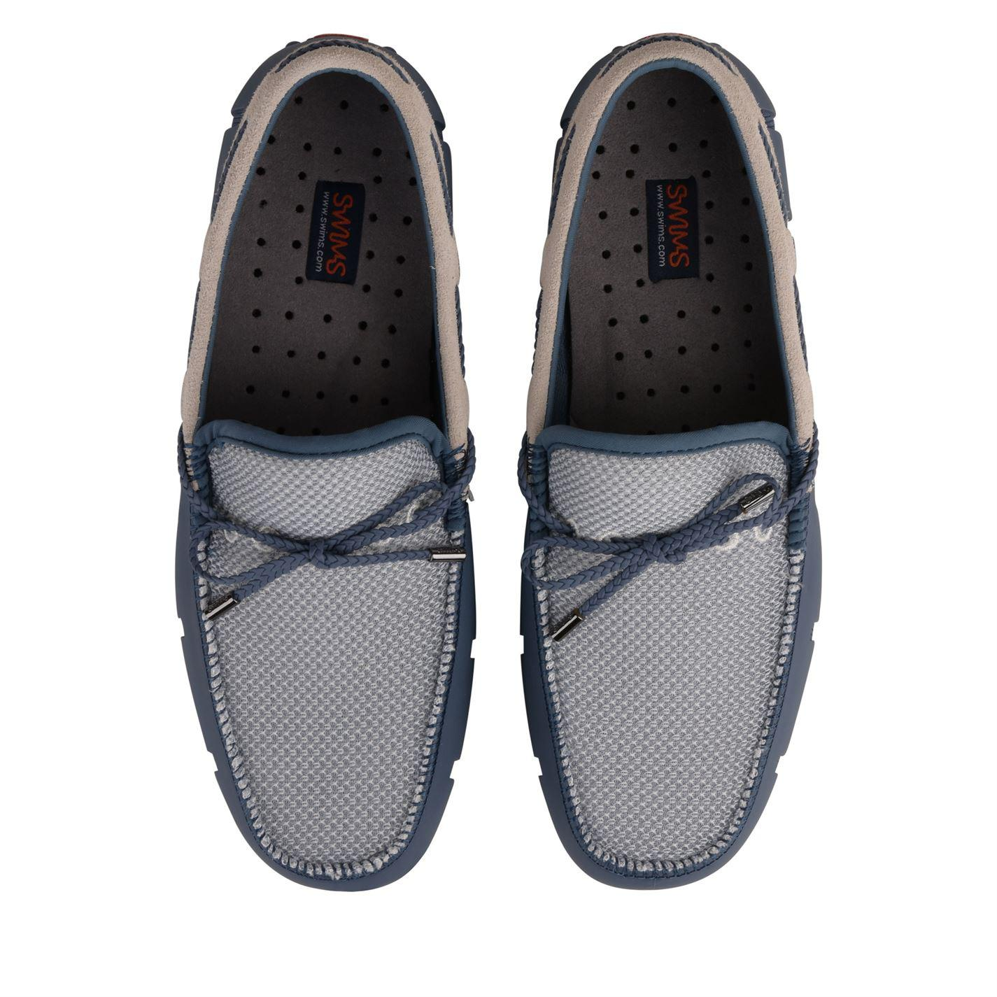 5563fe8a69ae4 Swims Braided Lux Loafers in Blue for Men - Lyst