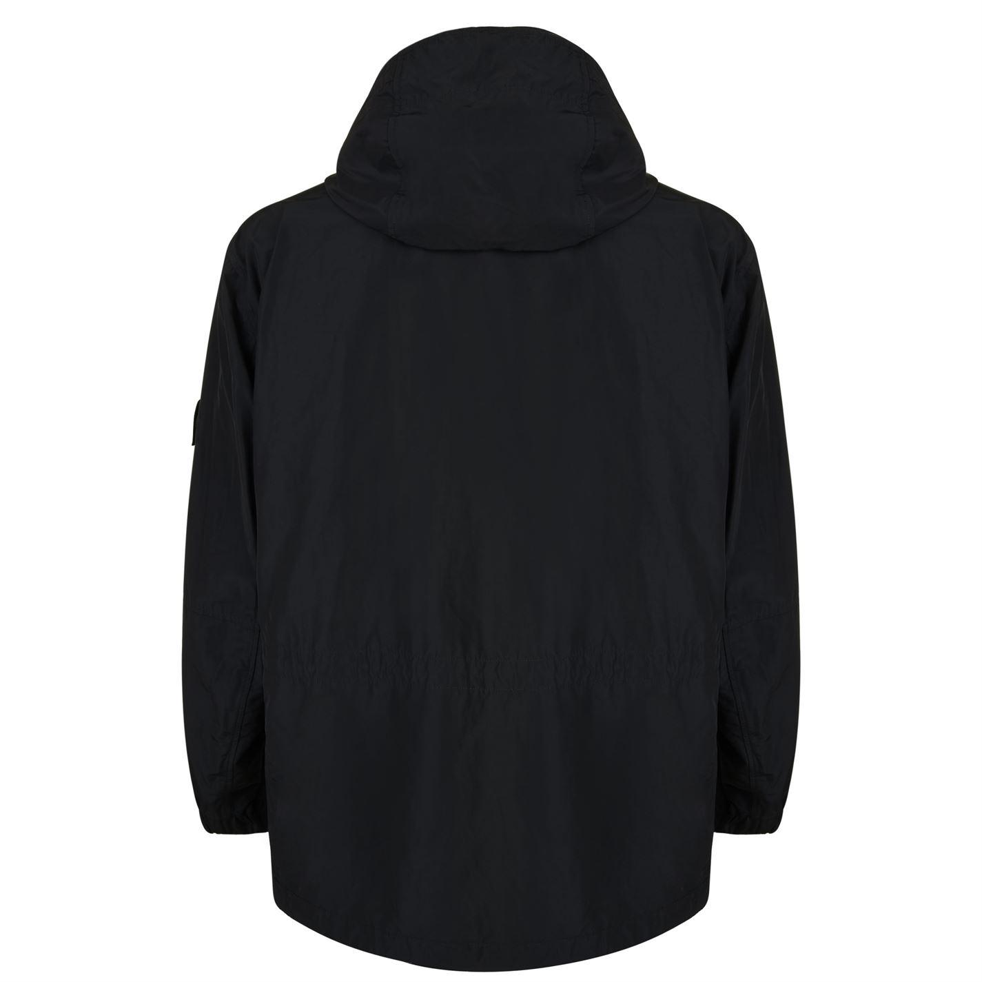 Stone Island Synthetic Micro Rep Jacket in Black for Men