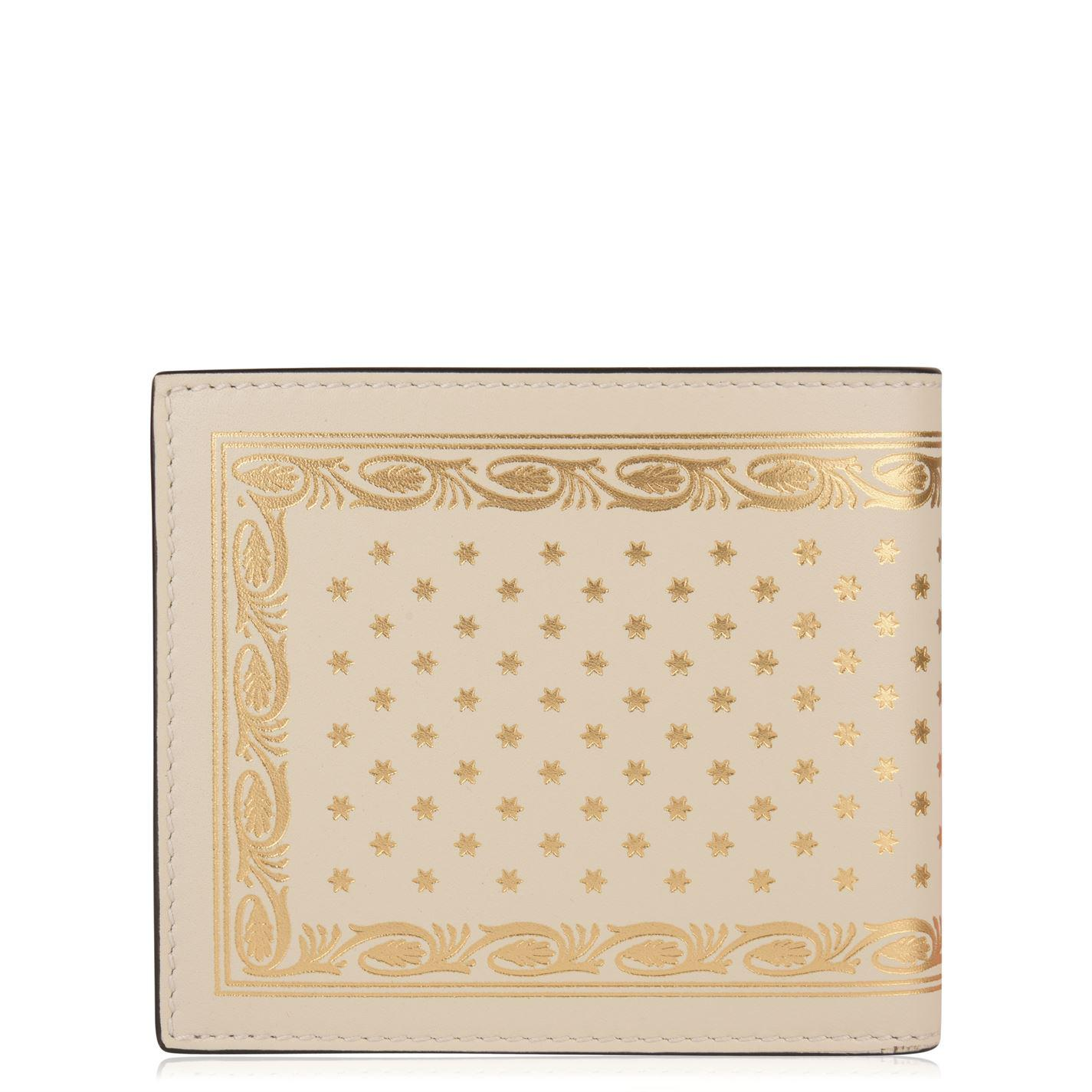 e540d5a3c261 Gucci - White Guccy Bifold Wallet for Men - Lyst. View fullscreen